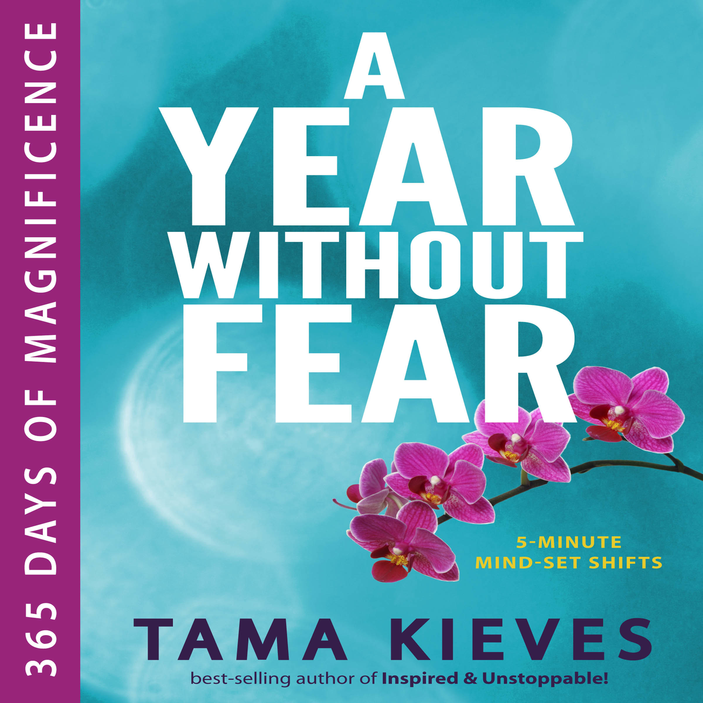 Printable A Year Without Fear: 365 Days of Magnificence Audiobook Cover Art