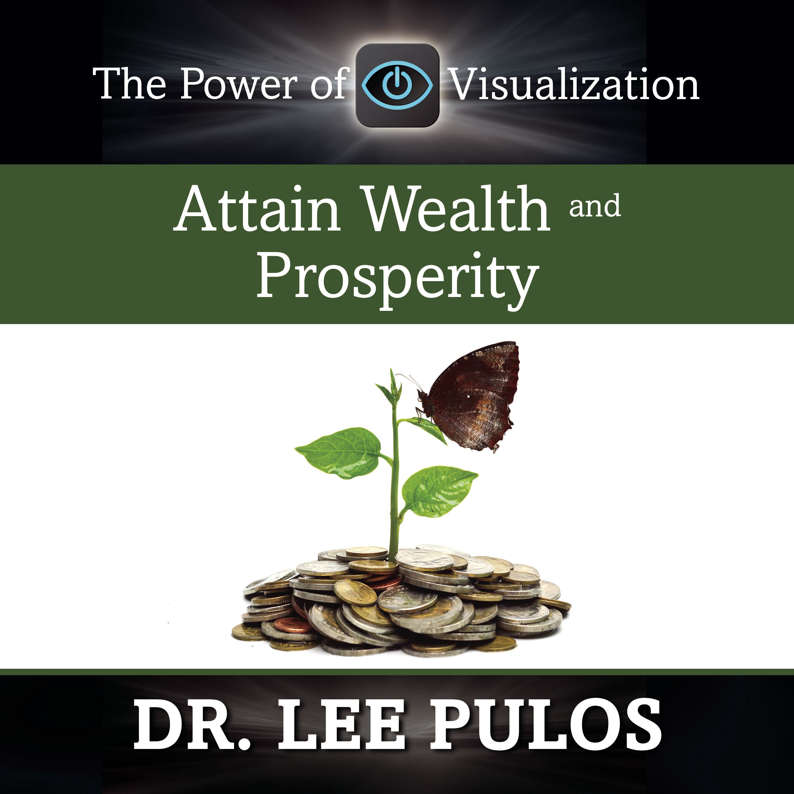 Printable Attain Wealth and Prosperity Audiobook Cover Art