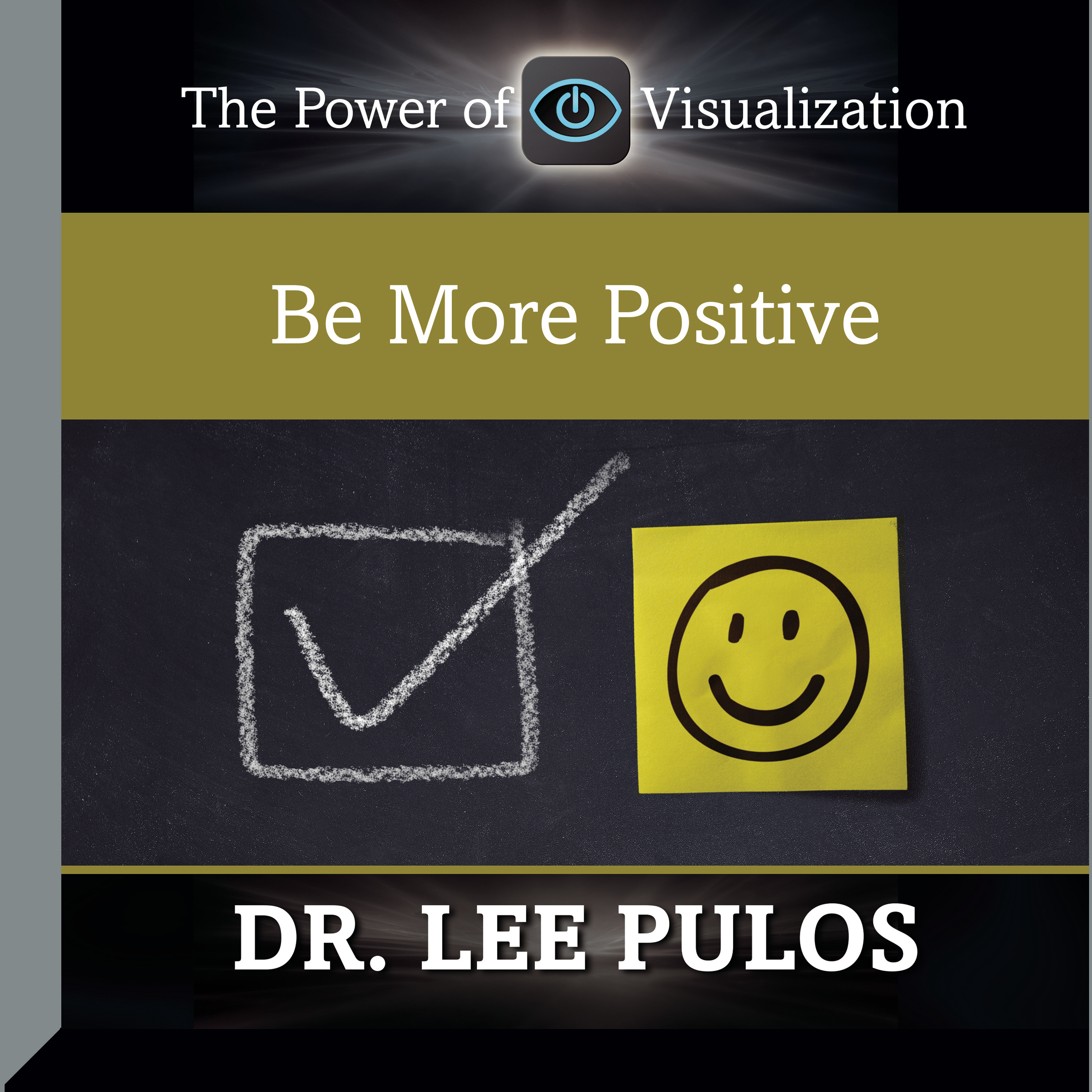 Printable Be More Positive Audiobook Cover Art