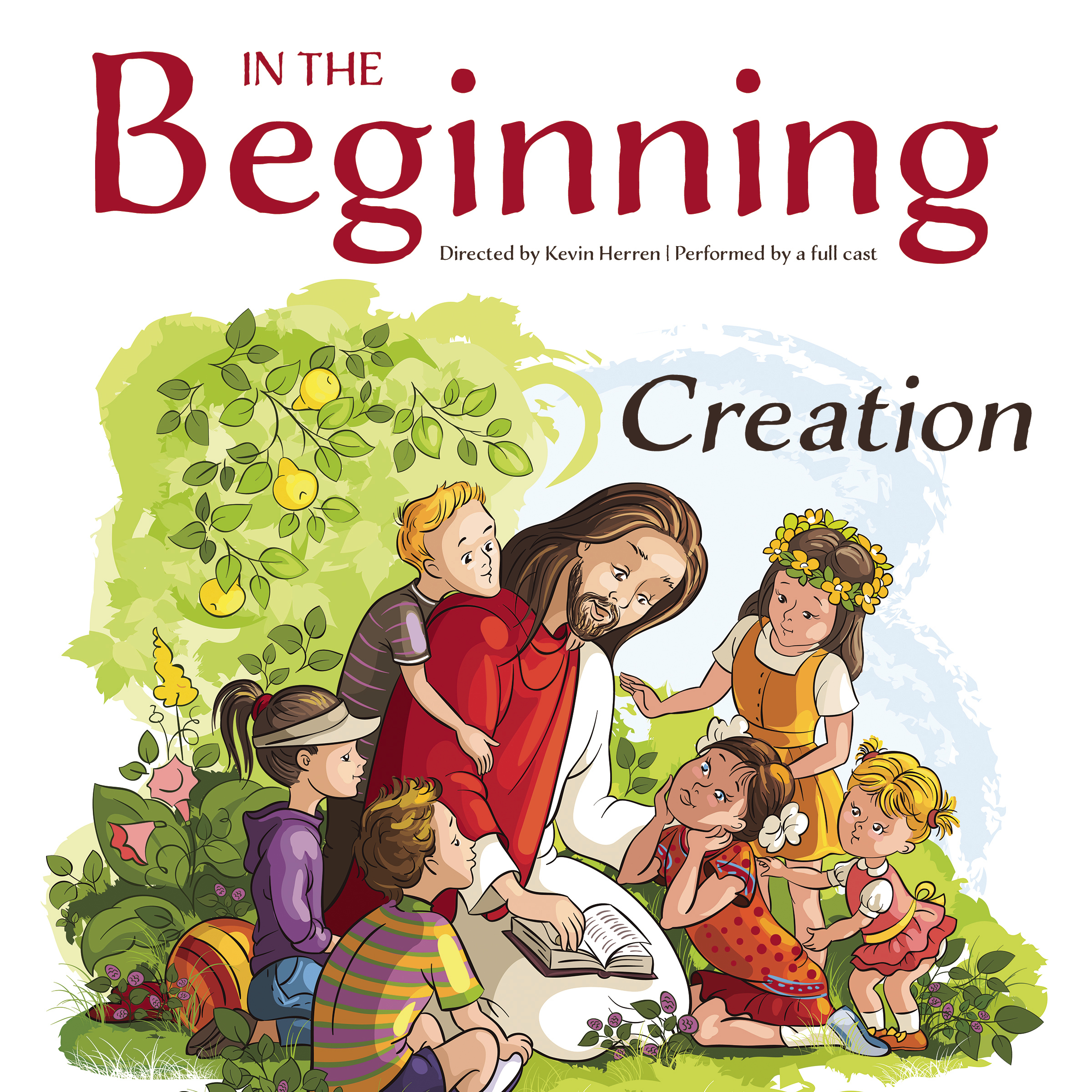 Printable In the Beginning: Creation Audiobook Cover Art
