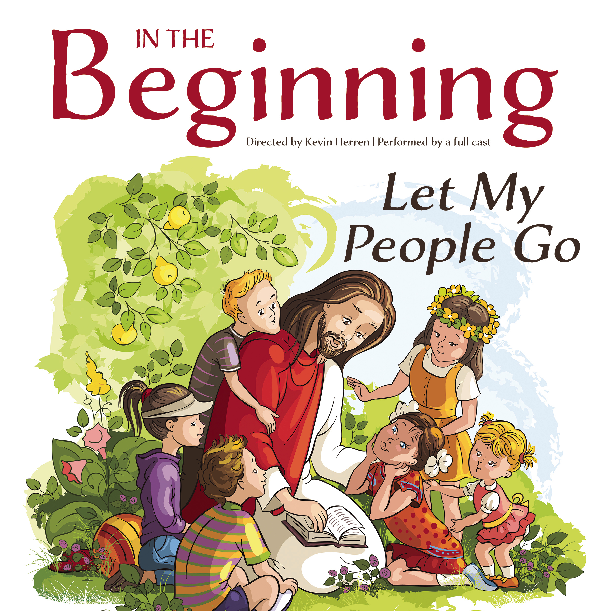 Printable In the Beginning: Let My People Go Audiobook Cover Art