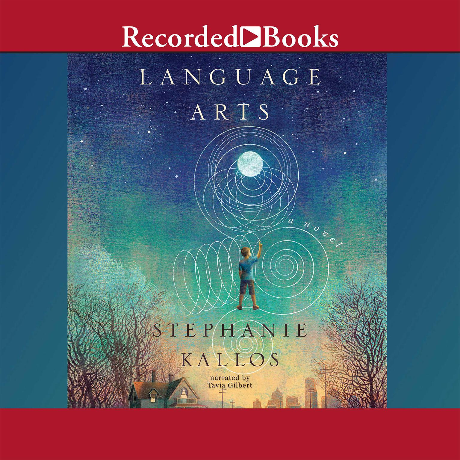 Printable Language Arts: A Novel Audiobook Cover Art
