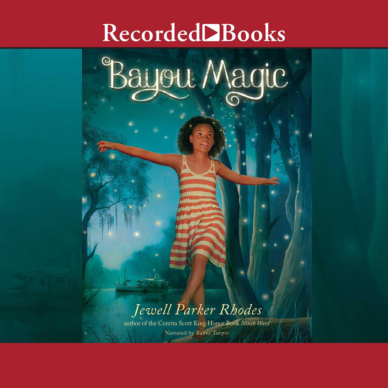 Printable Bayou Magic Audiobook Cover Art