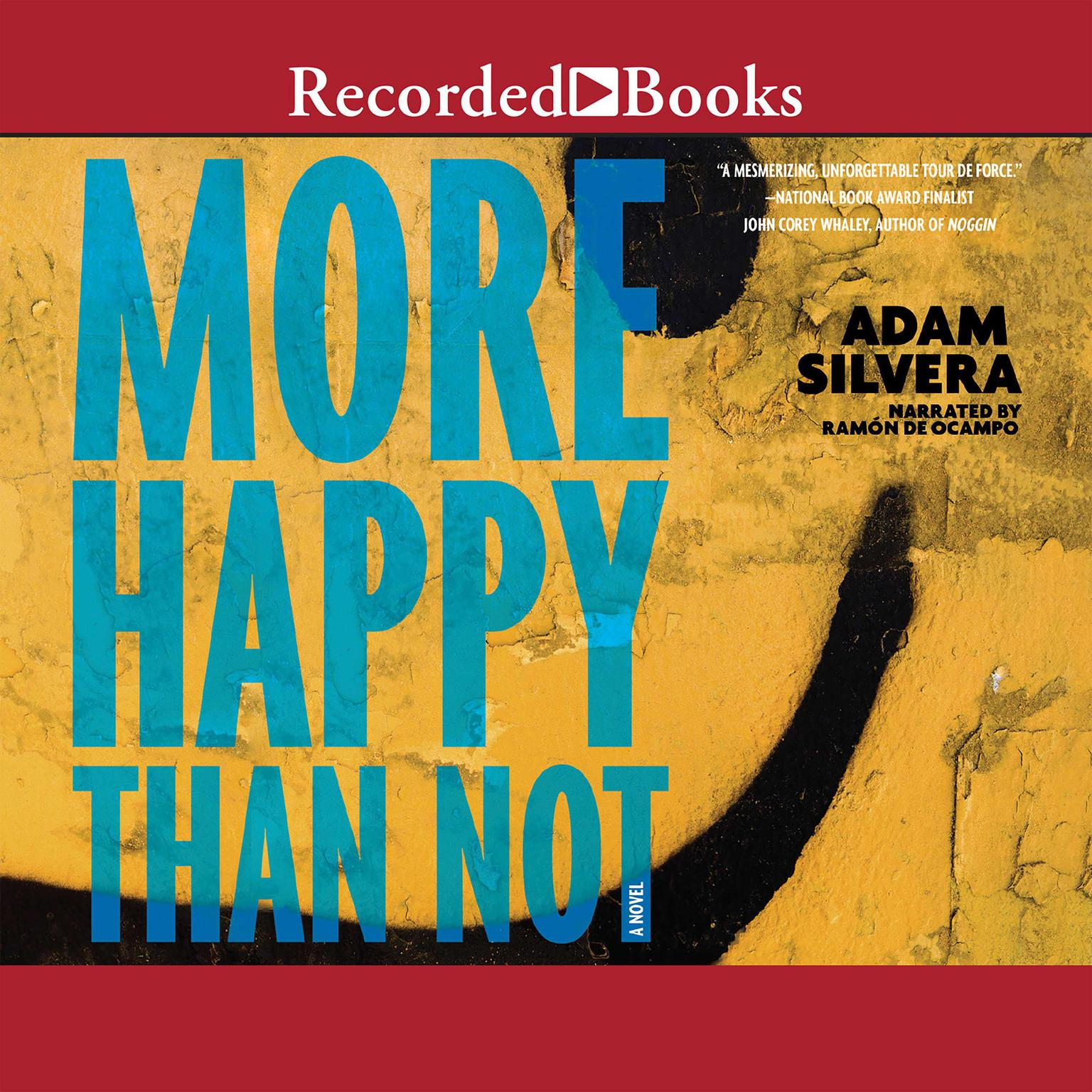 Printable More Happy Than Not Audiobook Cover Art