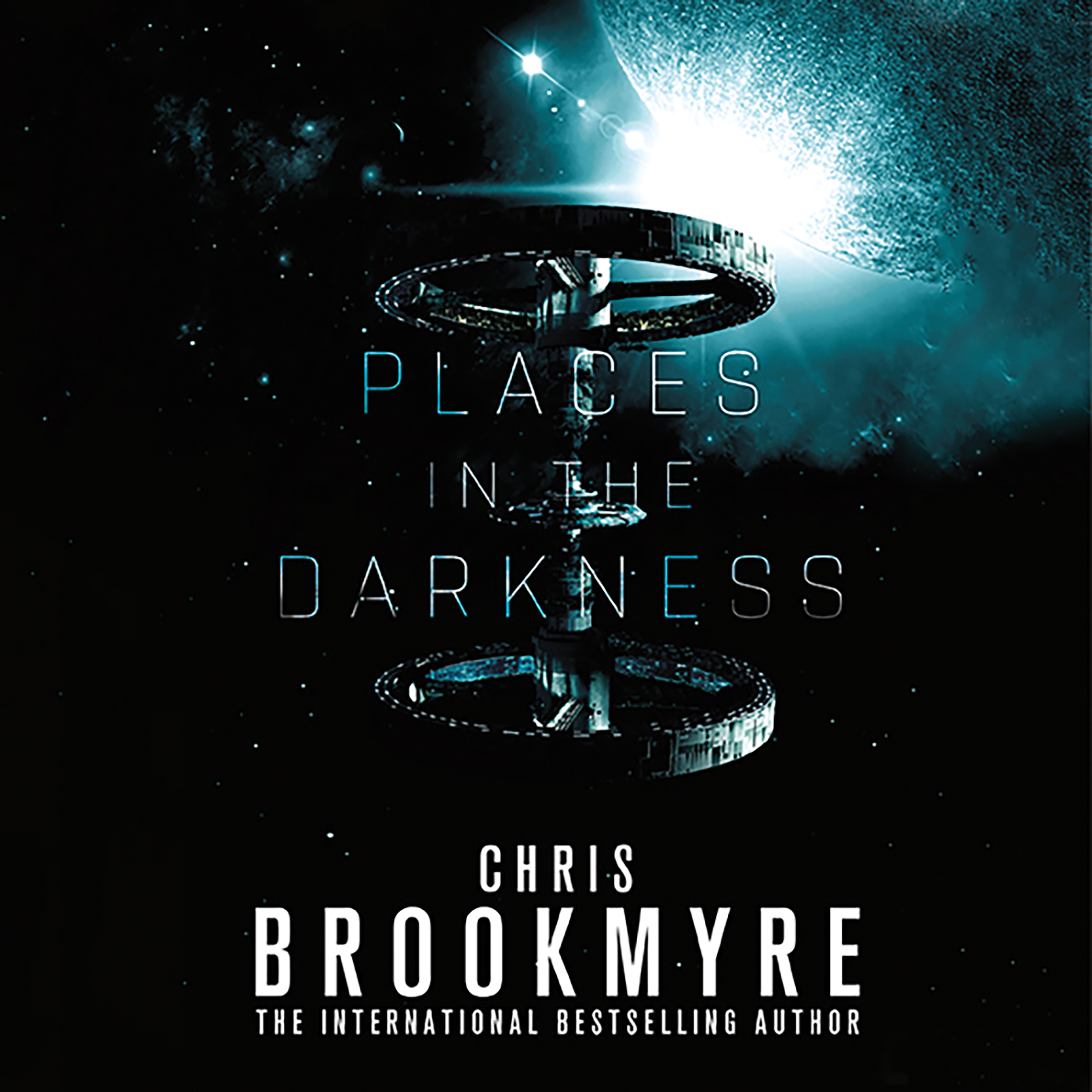 Printable Places in the Darkness Audiobook Cover Art