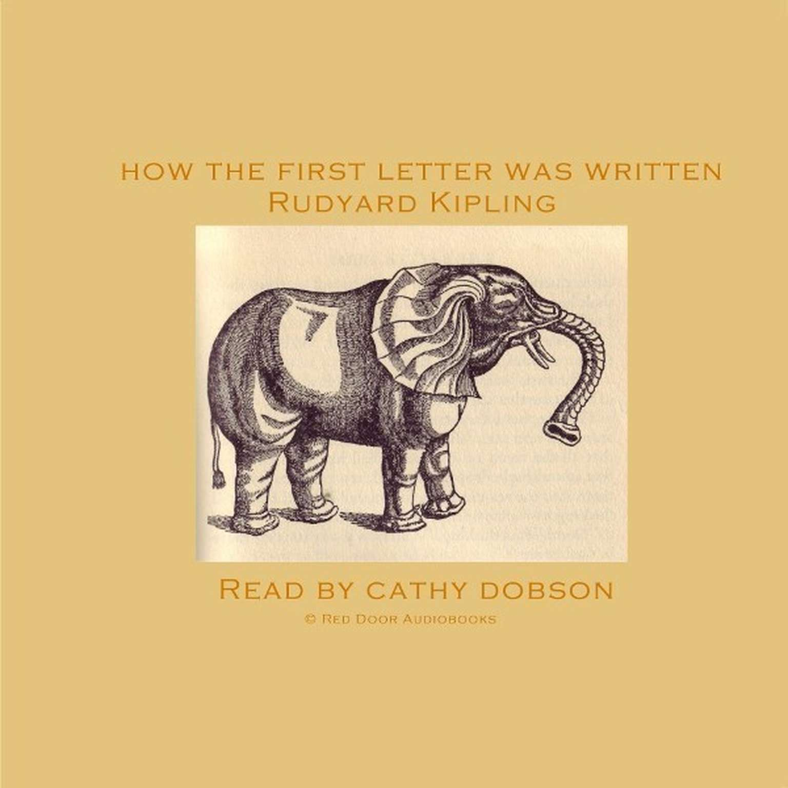 Printable How the First Letter Was Written Audiobook Cover Art