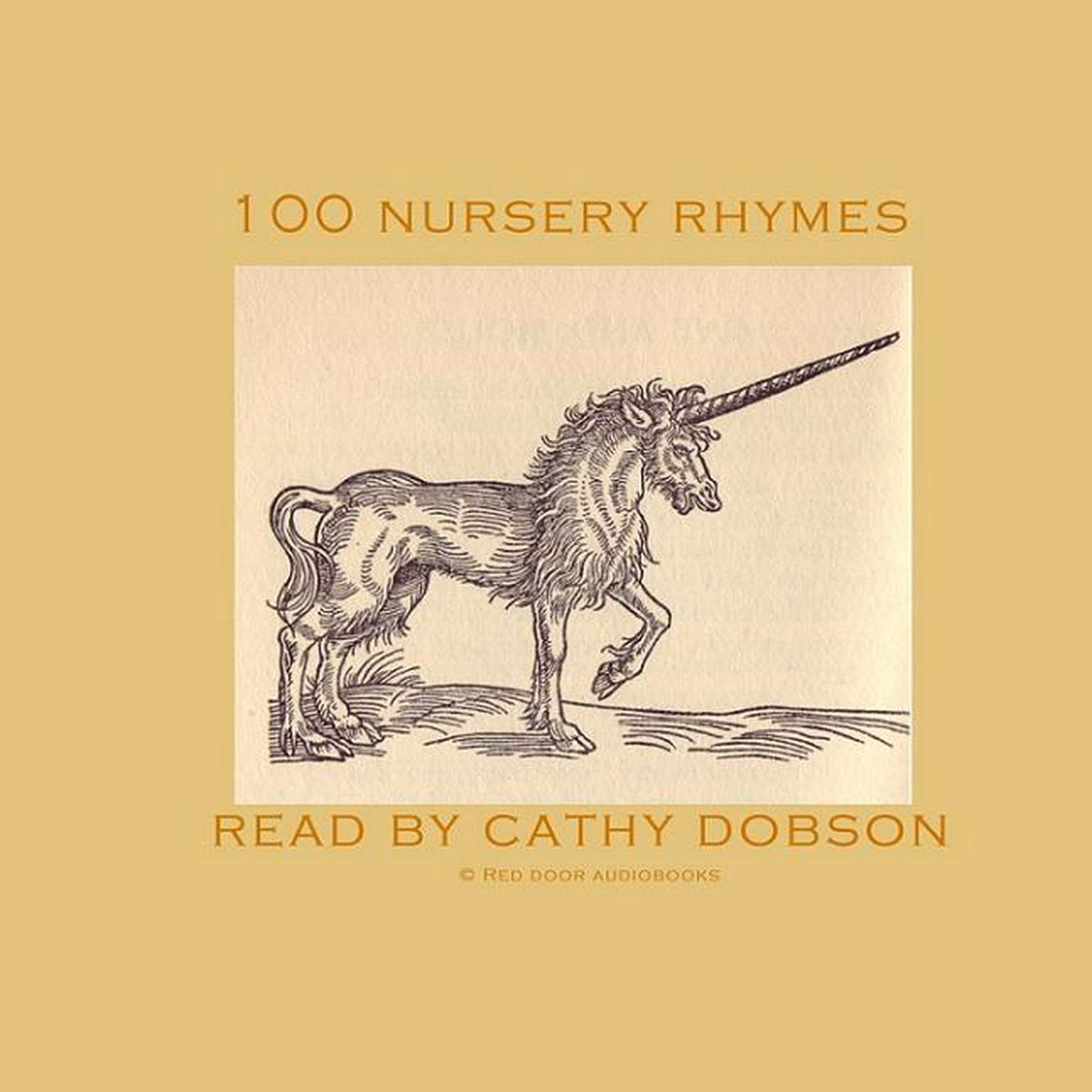 Printable 100 Nursery Rhymes Audiobook Cover Art