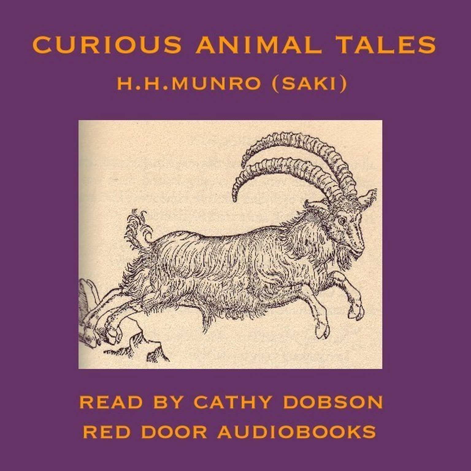 Printable Curious Animal Tales Audiobook Cover Art