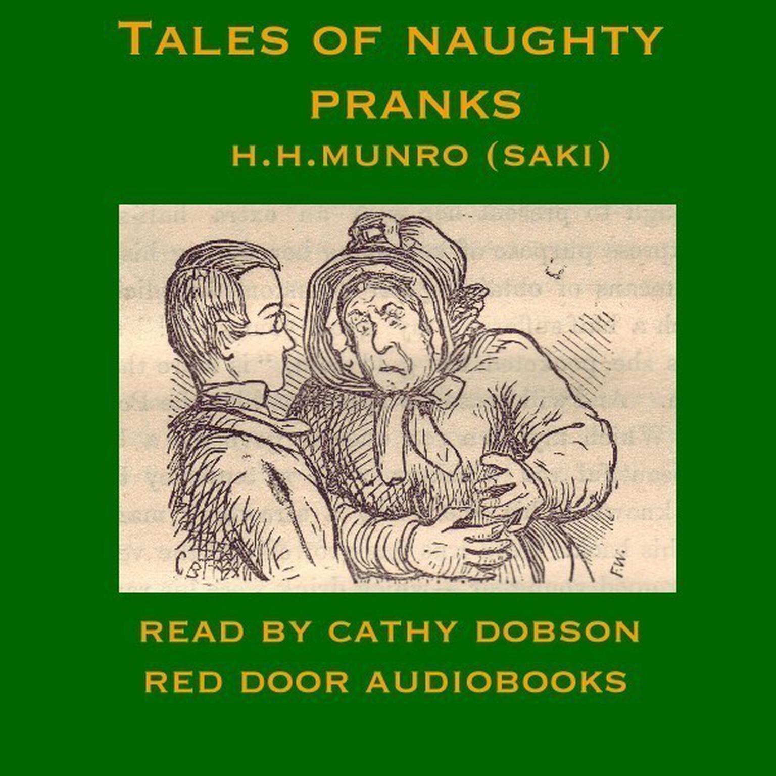 Printable Tales of Naughty Pranks Audiobook Cover Art