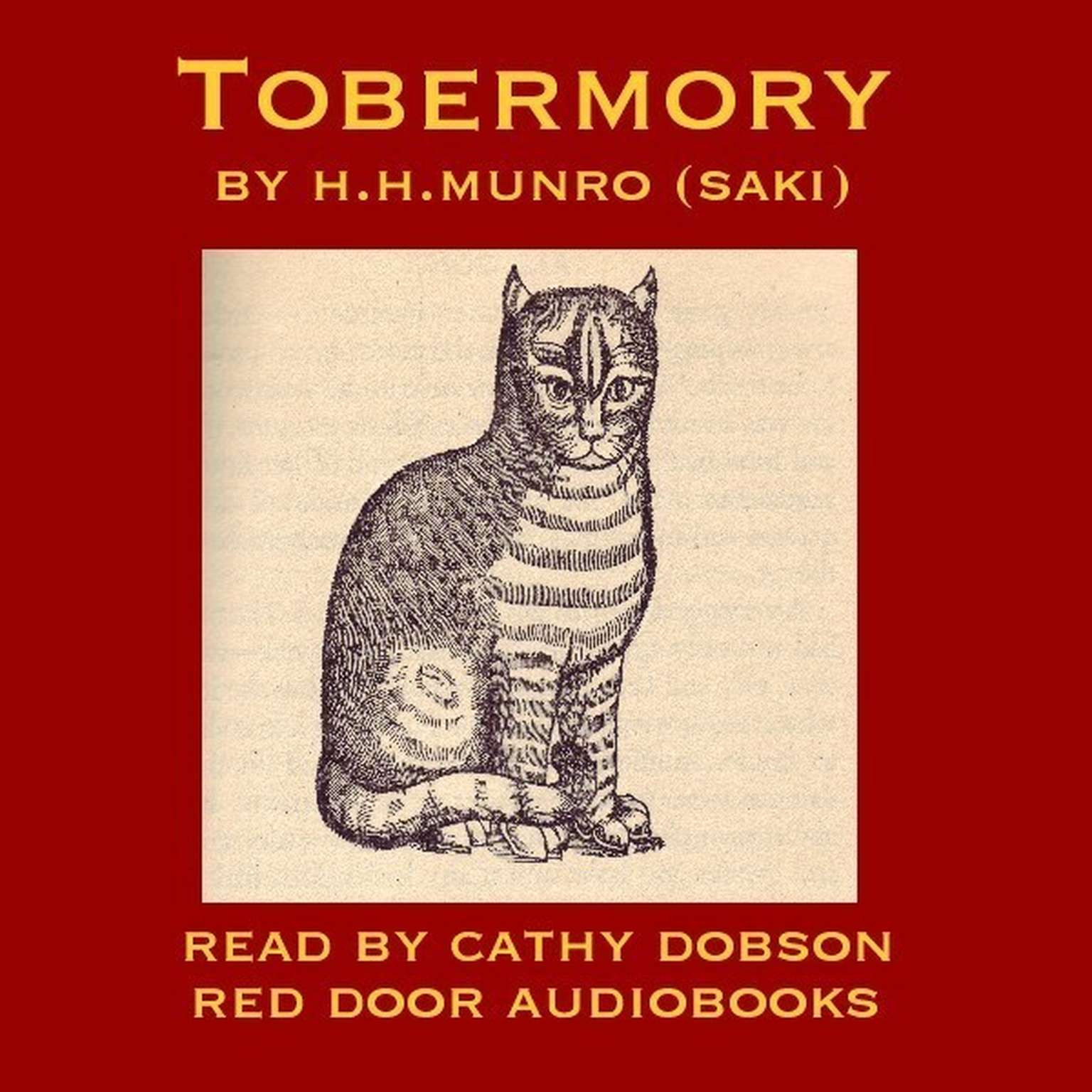 Printable Tobermory Audiobook Cover Art