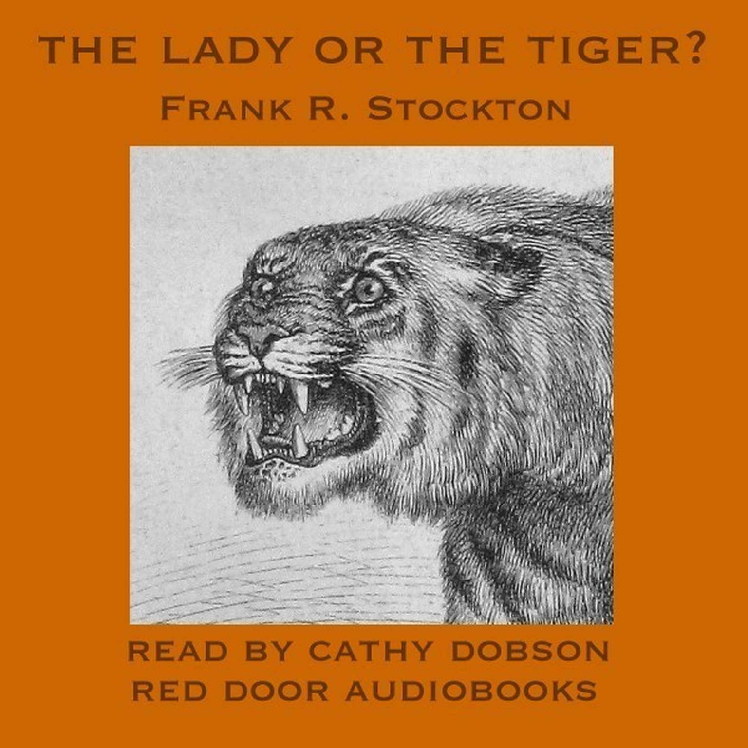 Printable The Lady or the Tiger? Audiobook Cover Art