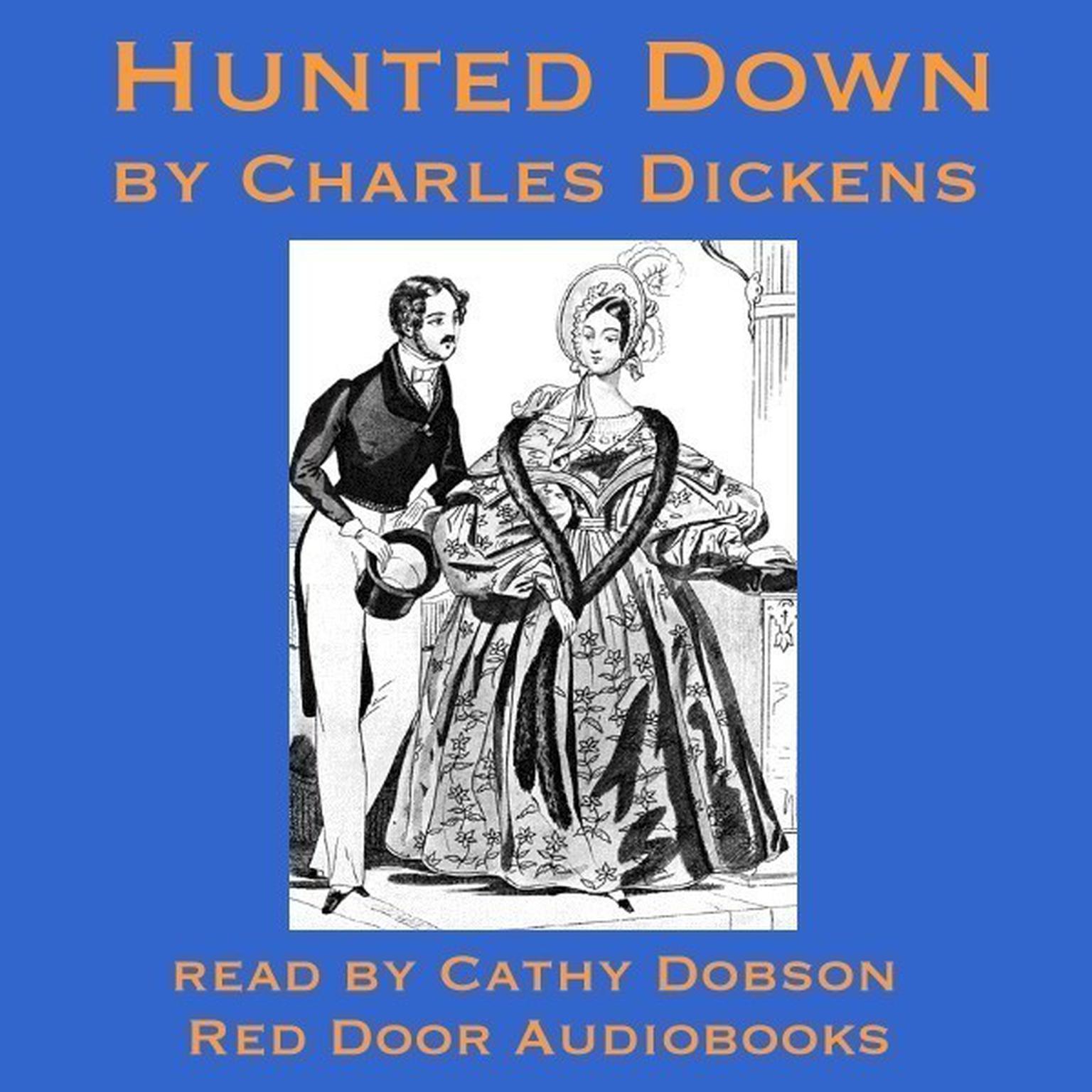 Printable Hunted Down Audiobook Cover Art