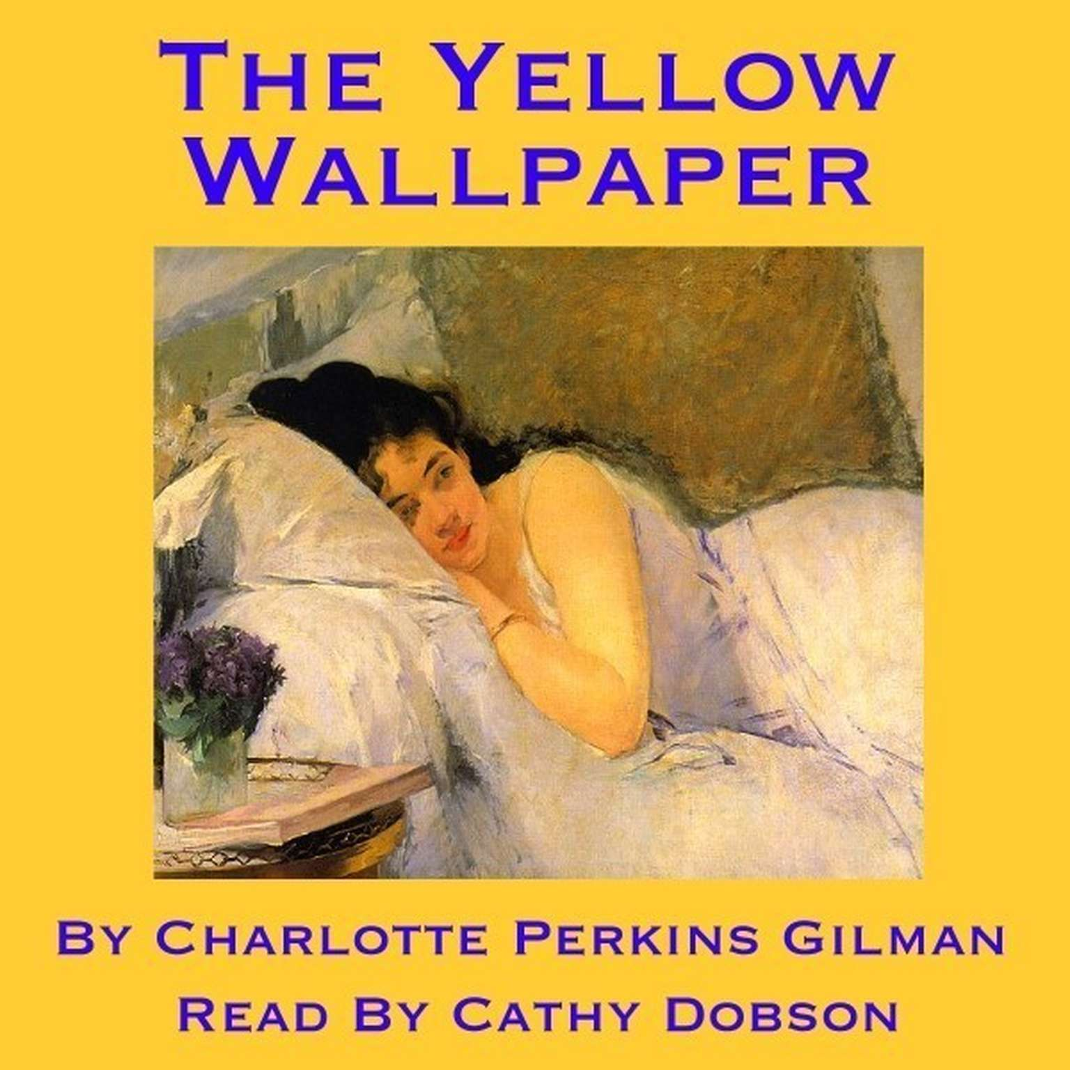 Printable The Yellow Wallpaper Audiobook Cover Art