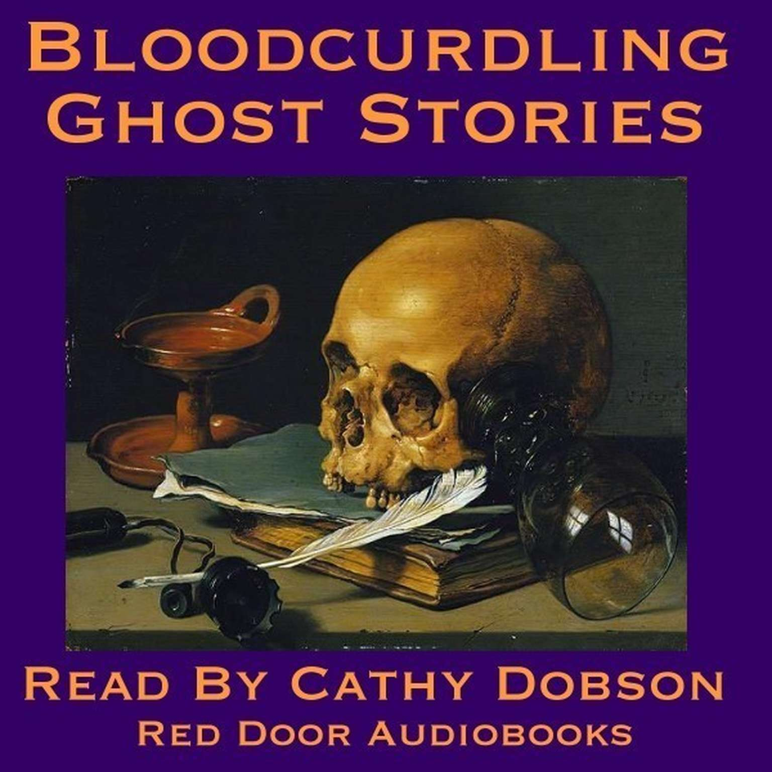 Printable Bloodcurdling Ghost Stories Audiobook Cover Art