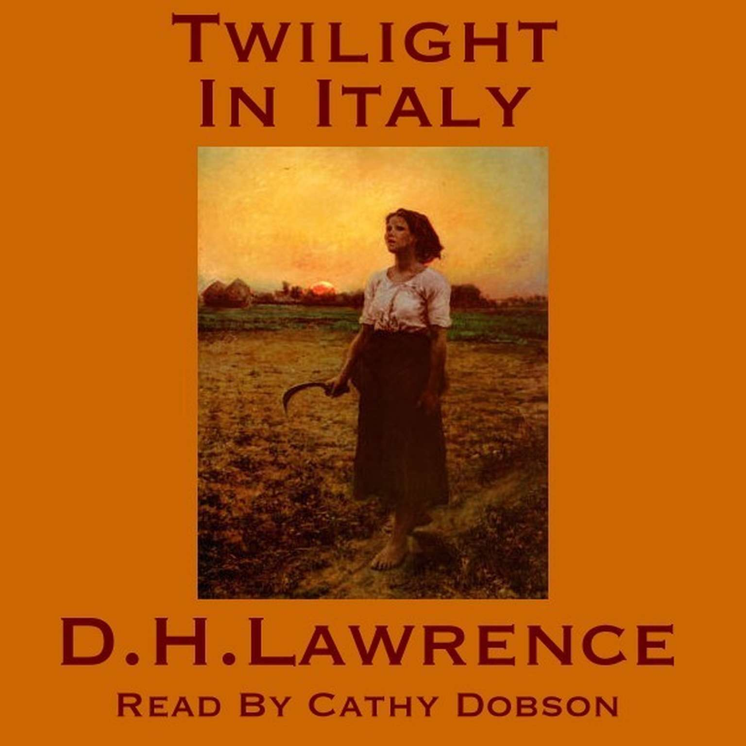 Printable Twilight in Italy Audiobook Cover Art