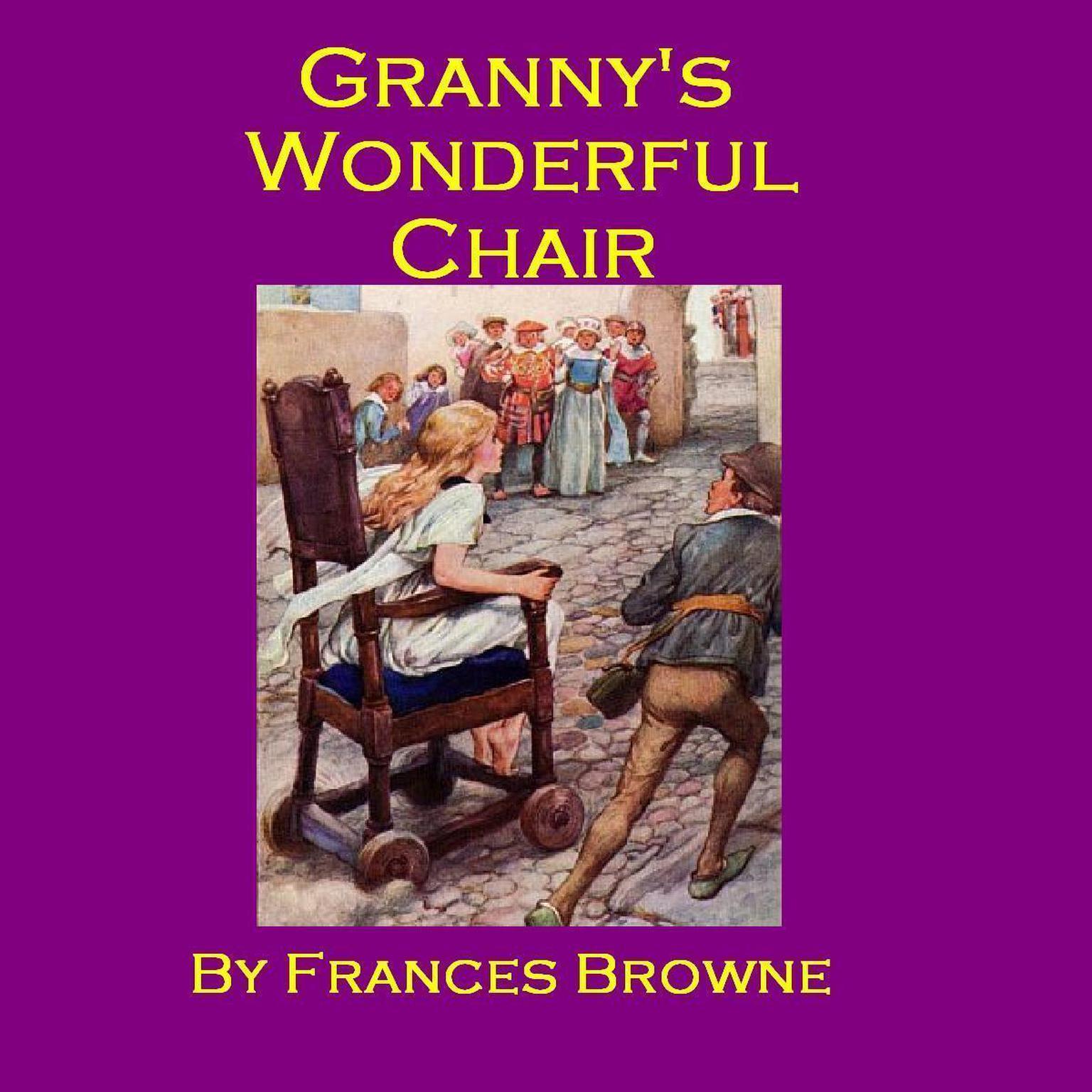 Printable Granny's Wonderful Chair Audiobook Cover Art