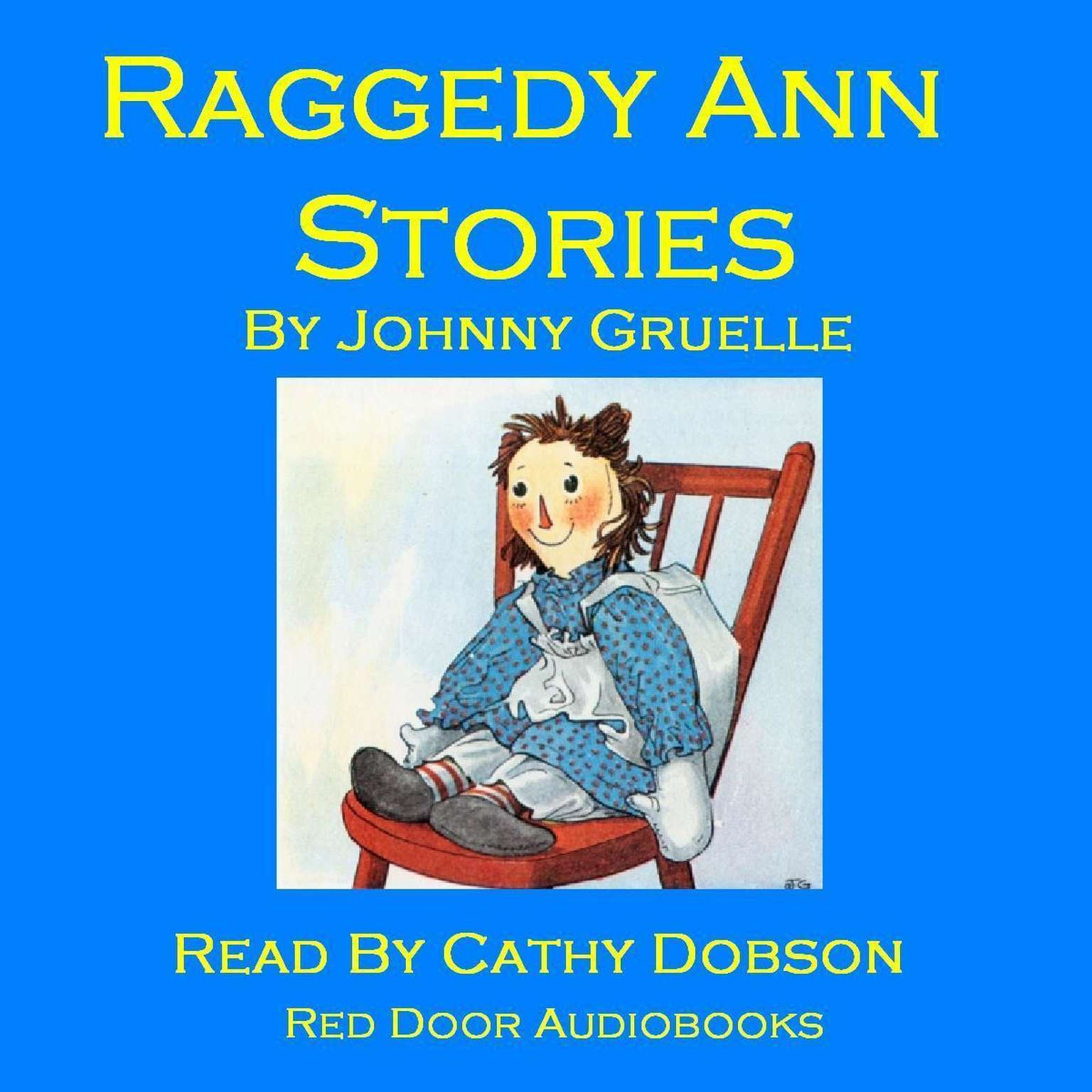 Printable Raggedy Ann Stories Audiobook Cover Art
