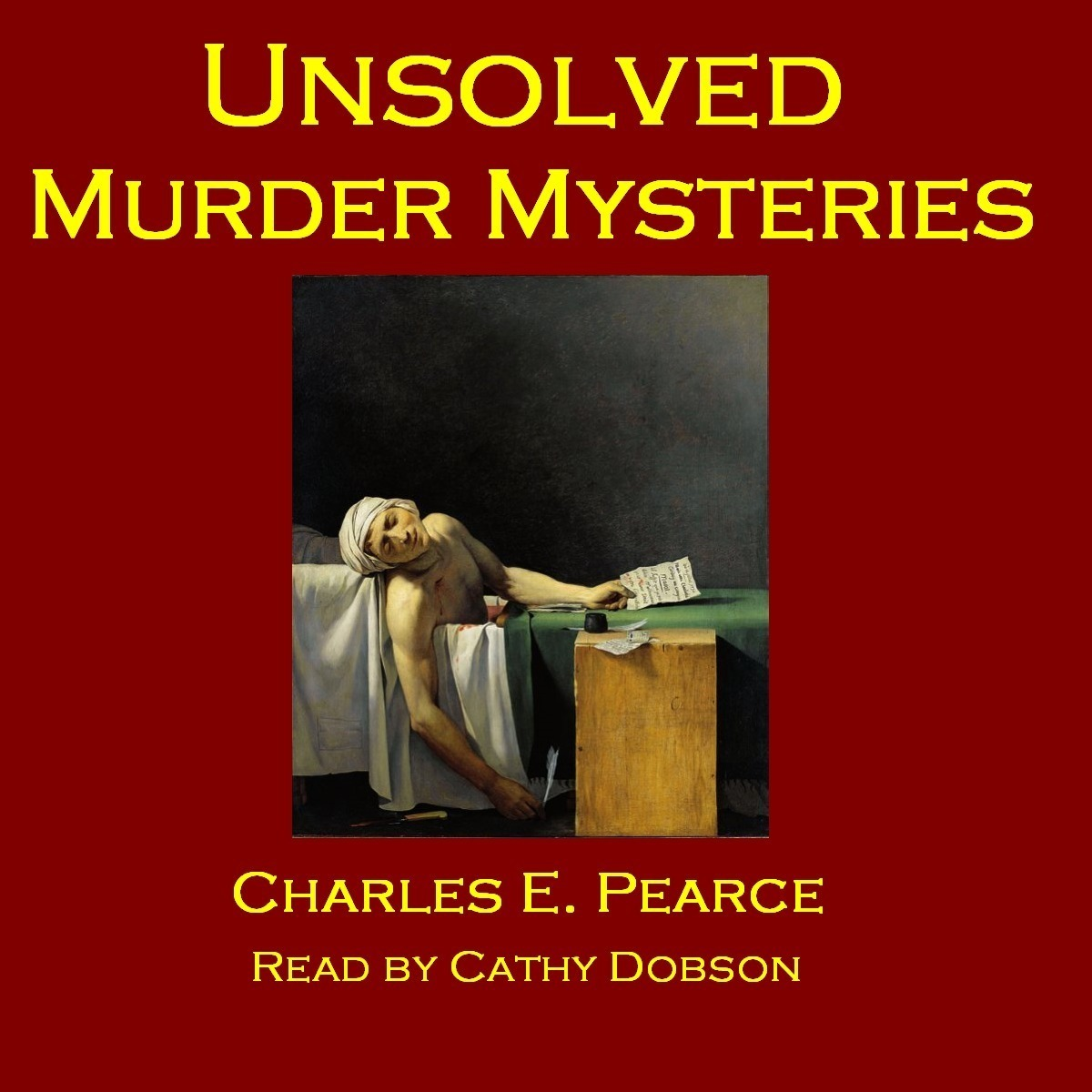 Printable Unsolved Murder Mysteries Audiobook Cover Art