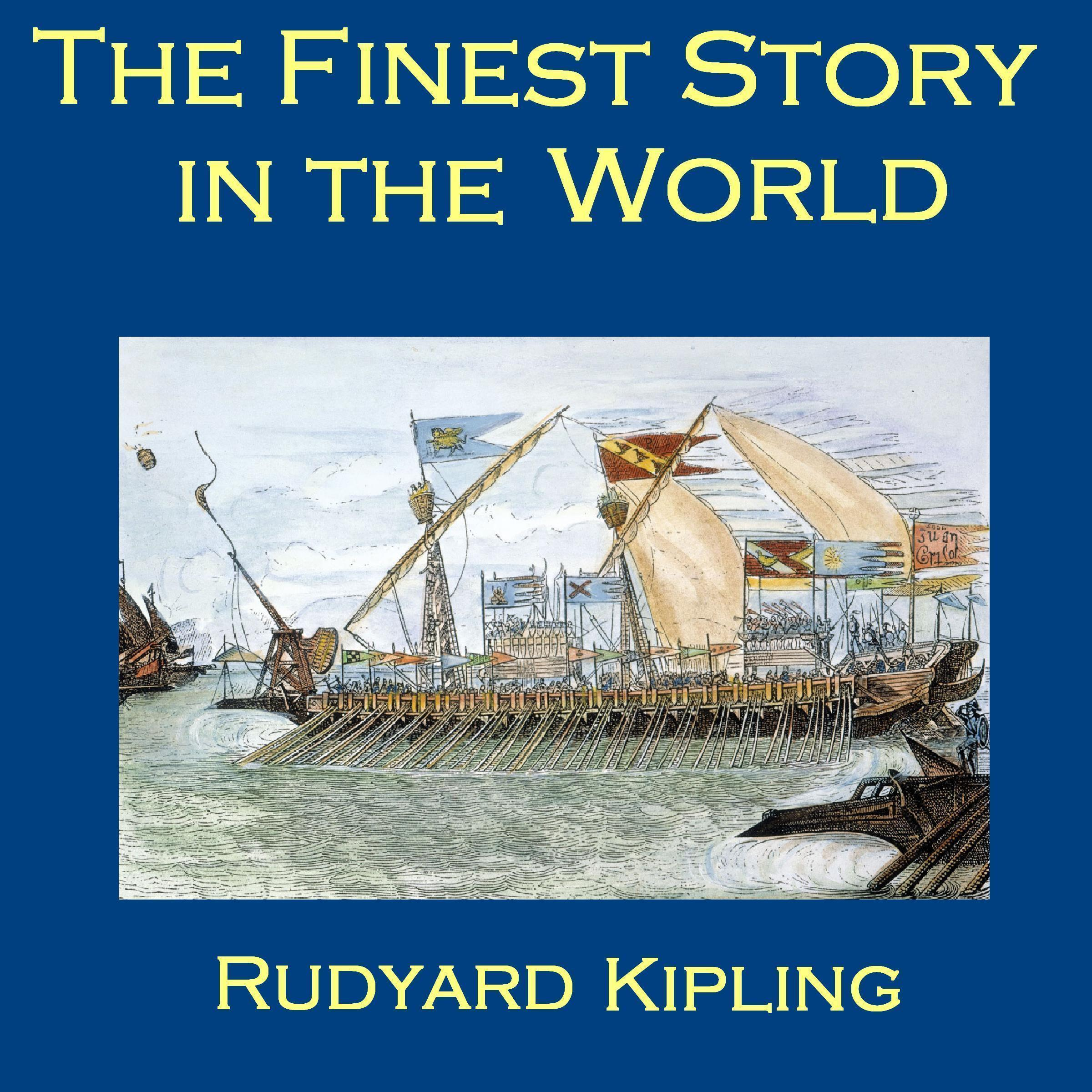 Printable The Finest Story in the World Audiobook Cover Art