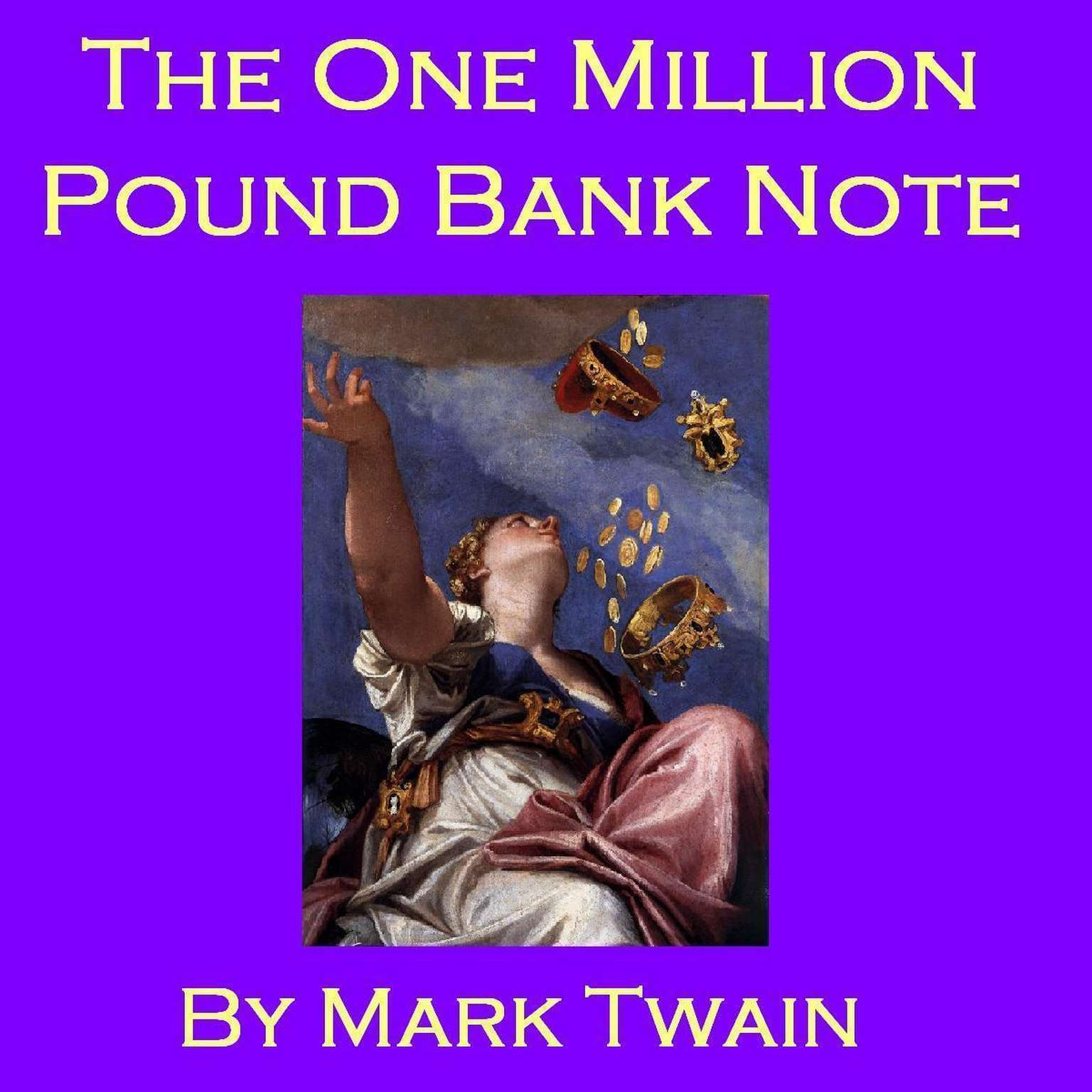 Printable The One Million Pound Bank Note Audiobook Cover Art