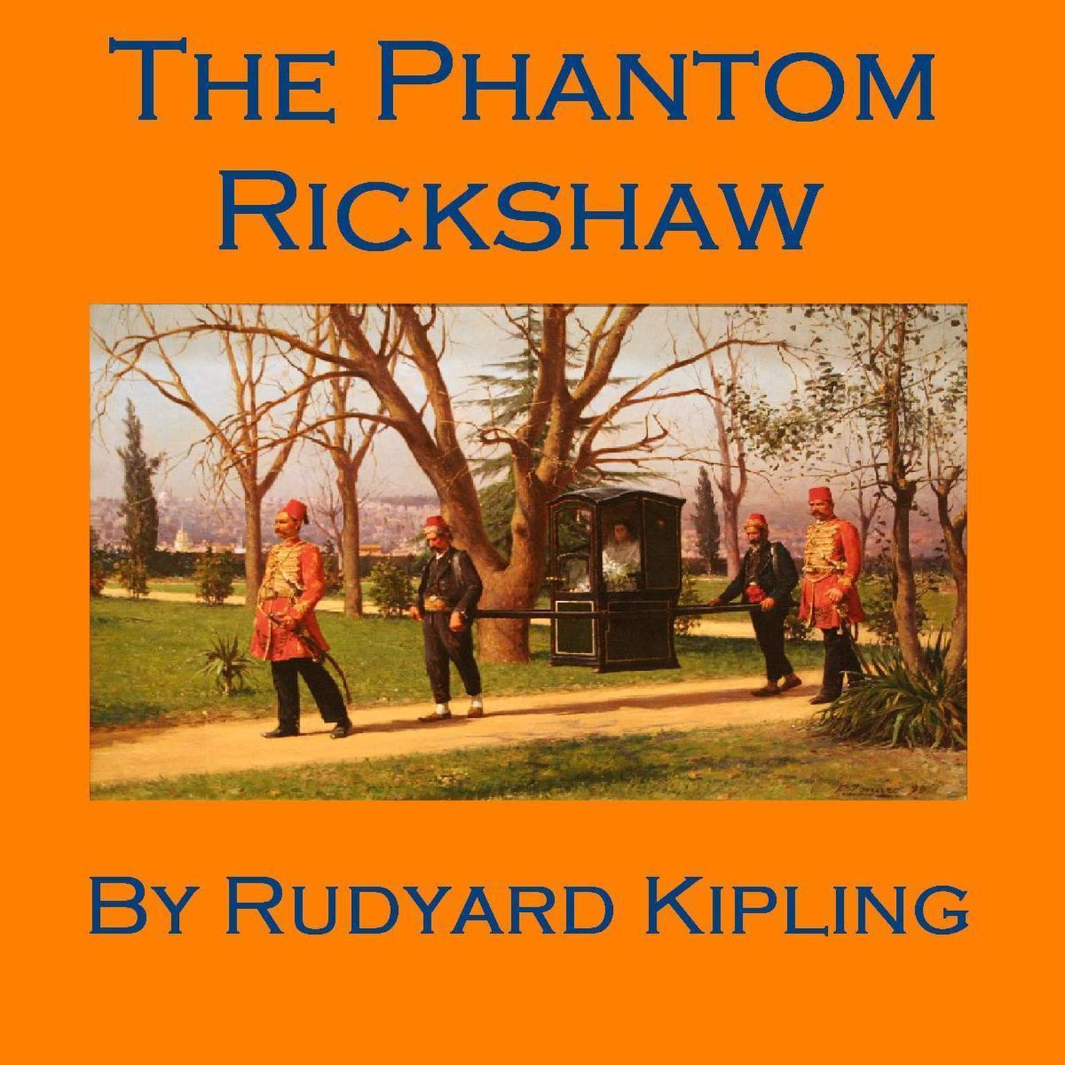 Printable The Phantom Rickshaw Audiobook Cover Art