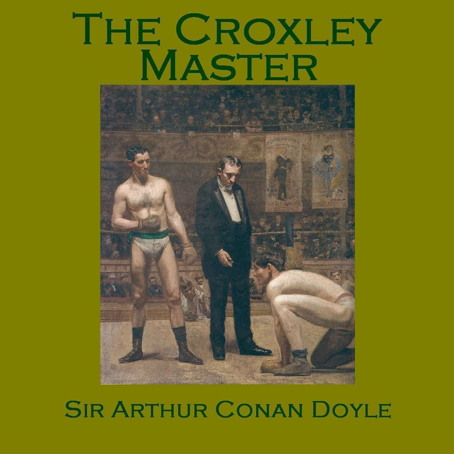 Printable The Croxley Master Audiobook Cover Art