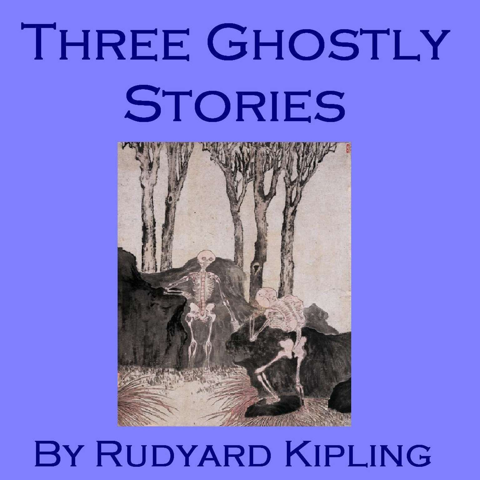 Printable Three Ghostly Stories Audiobook Cover Art