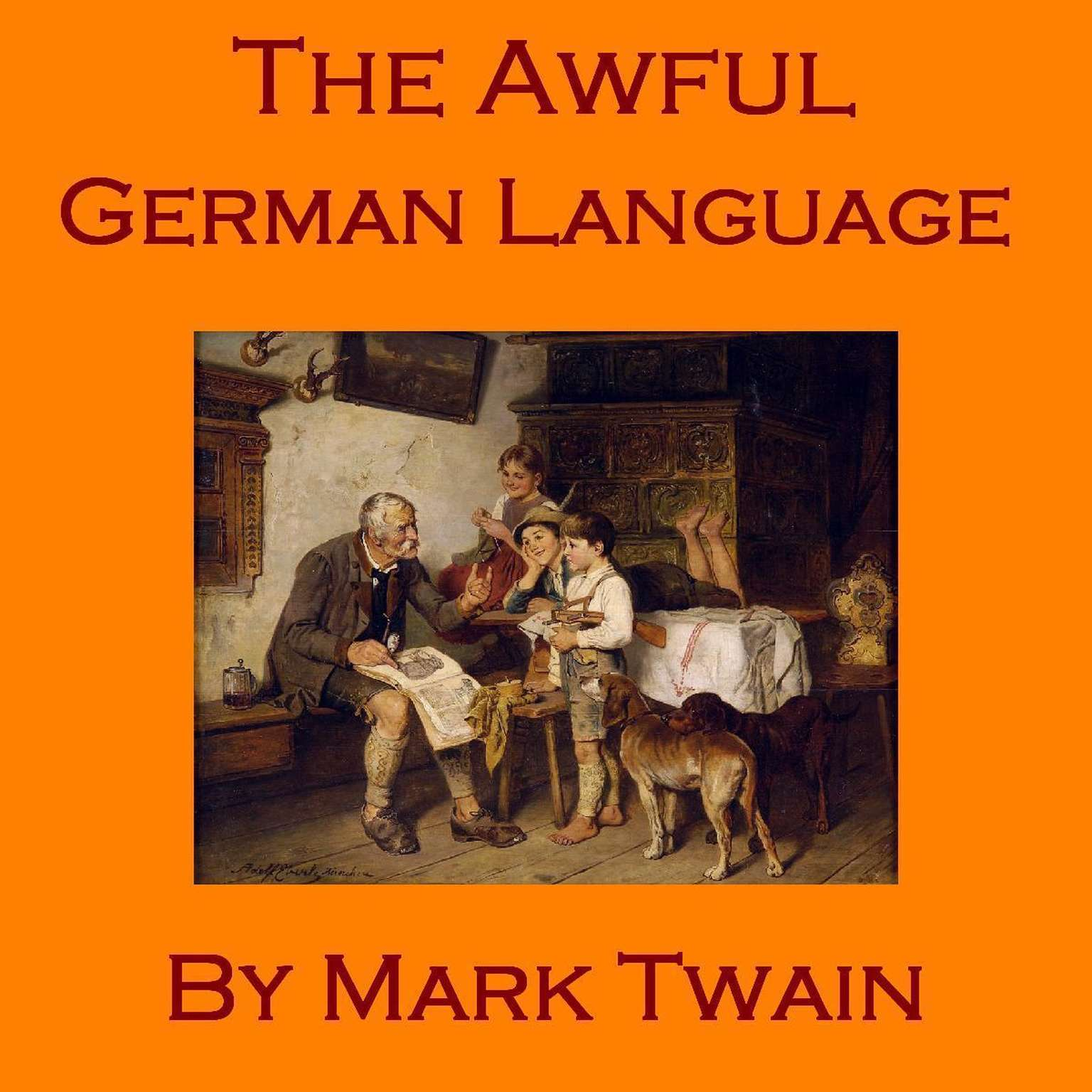 Printable The Awful German Language Audiobook Cover Art