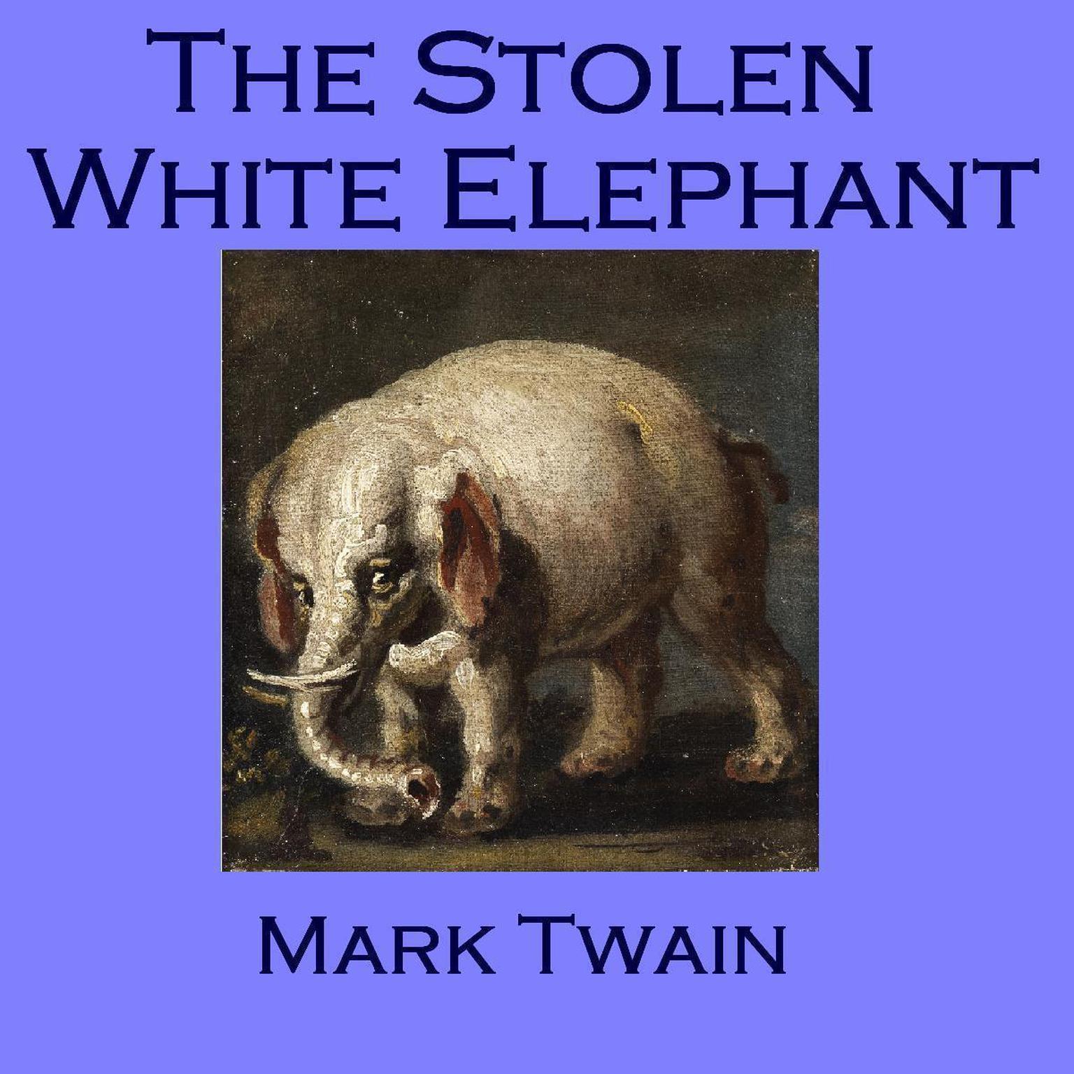 Printable The Stolen White Elephant Audiobook Cover Art
