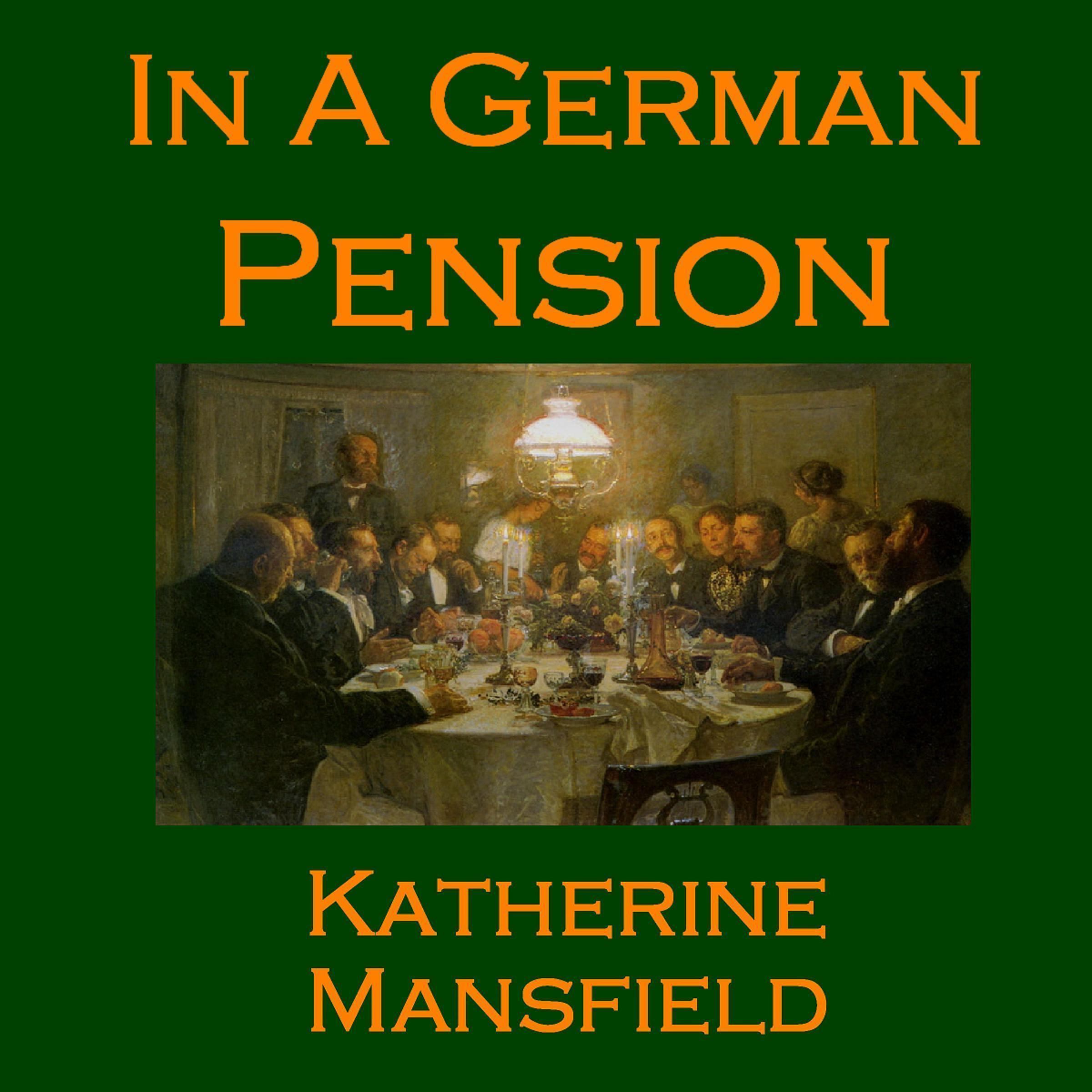 Printable In a German Pension Audiobook Cover Art