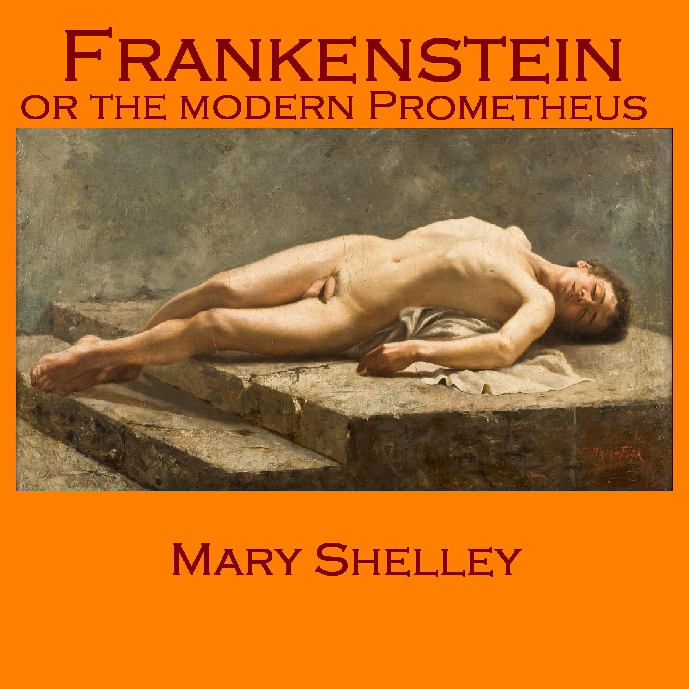 Printable Frankenstein: or The Modern Prometheus Audiobook Cover Art