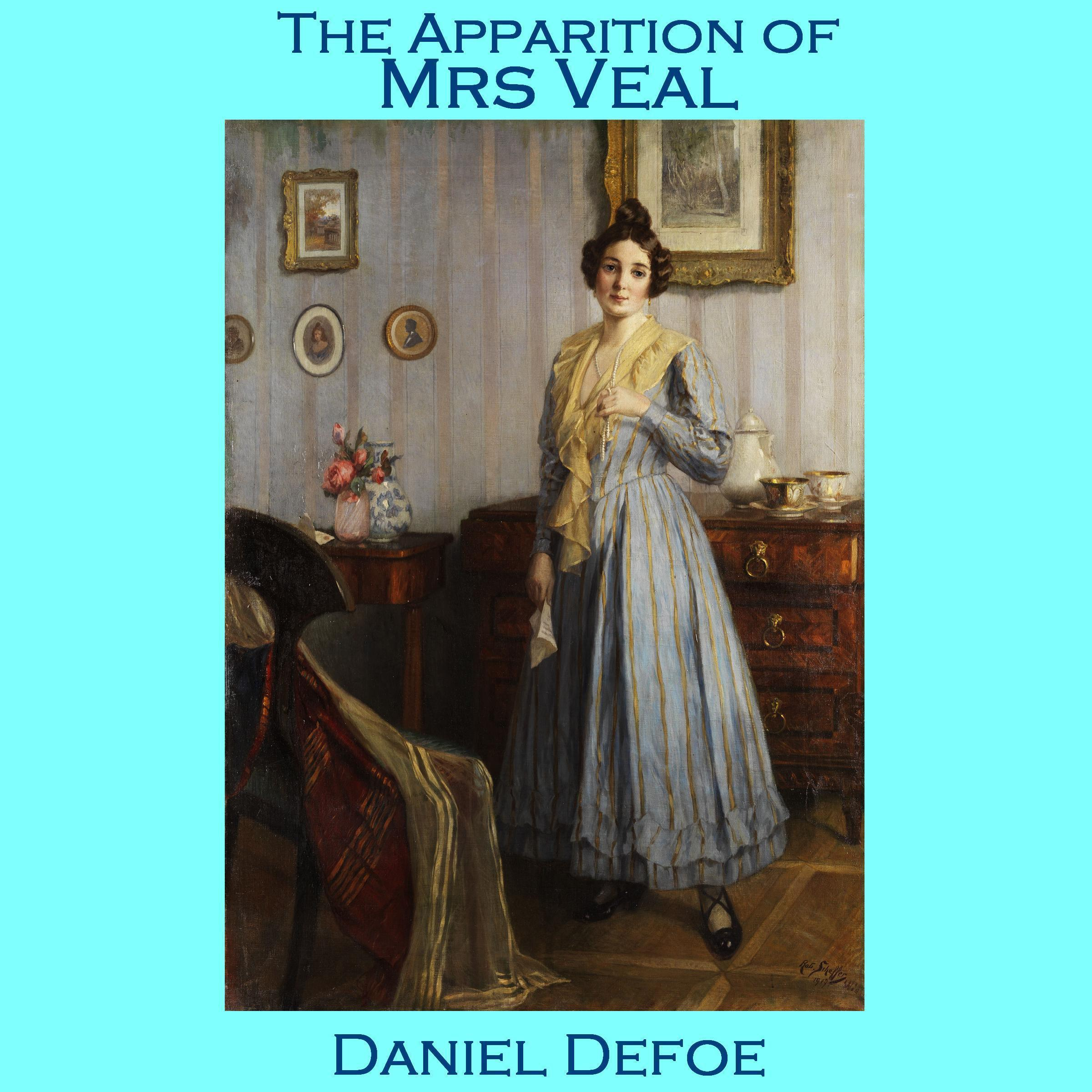 Printable The Apparition of Mrs. Veal Audiobook Cover Art