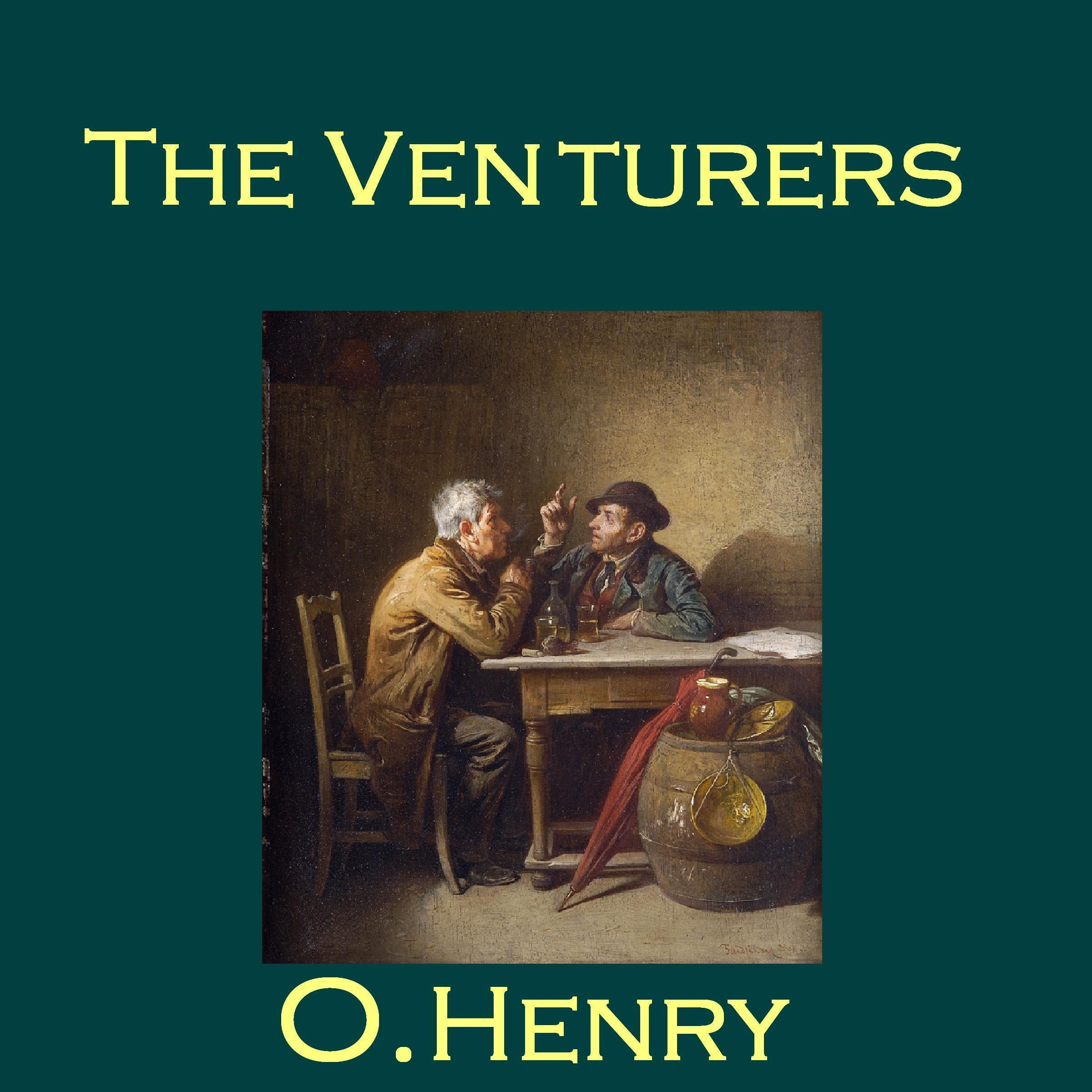 Printable The Venturers Audiobook Cover Art