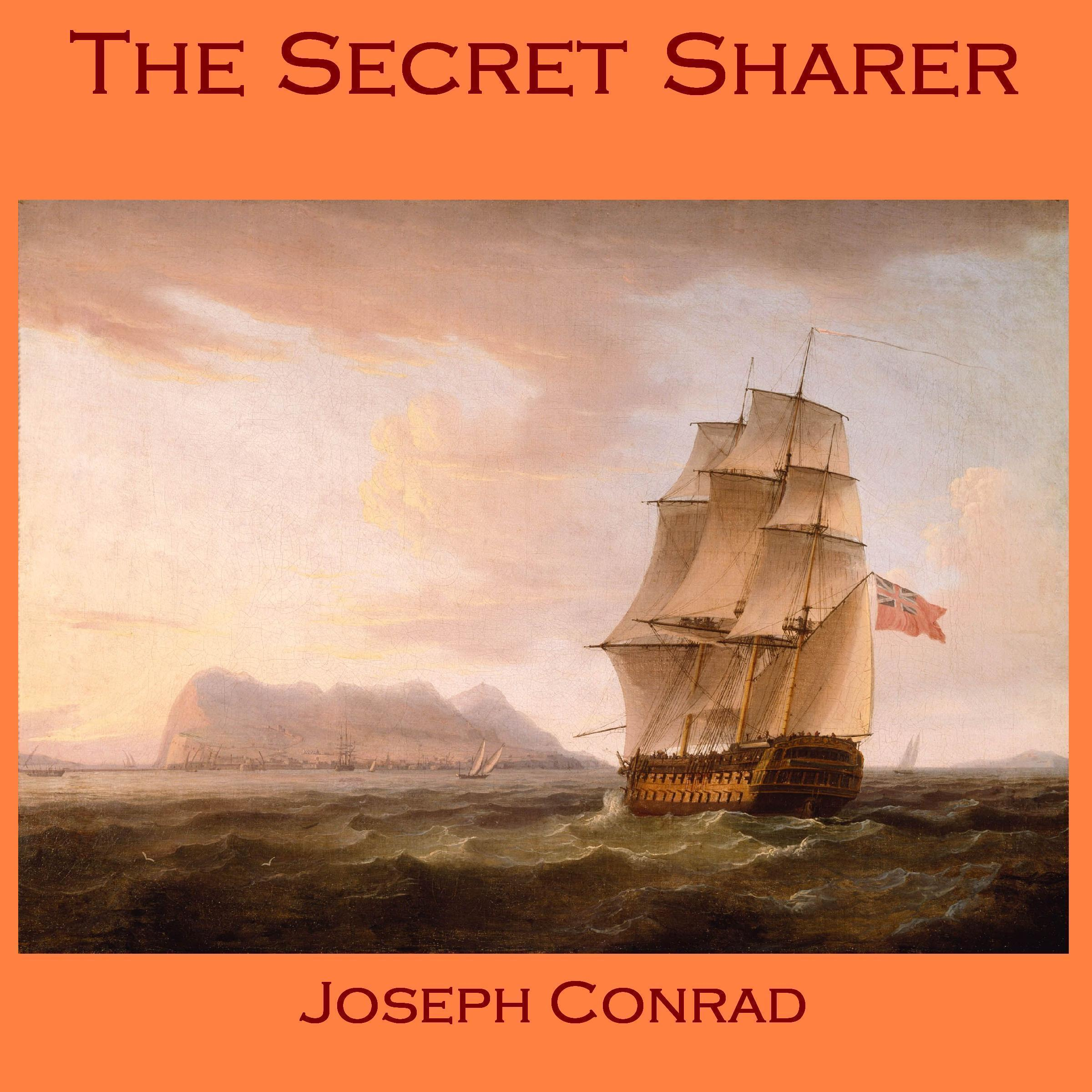 Printable The Secret Sharer Audiobook Cover Art