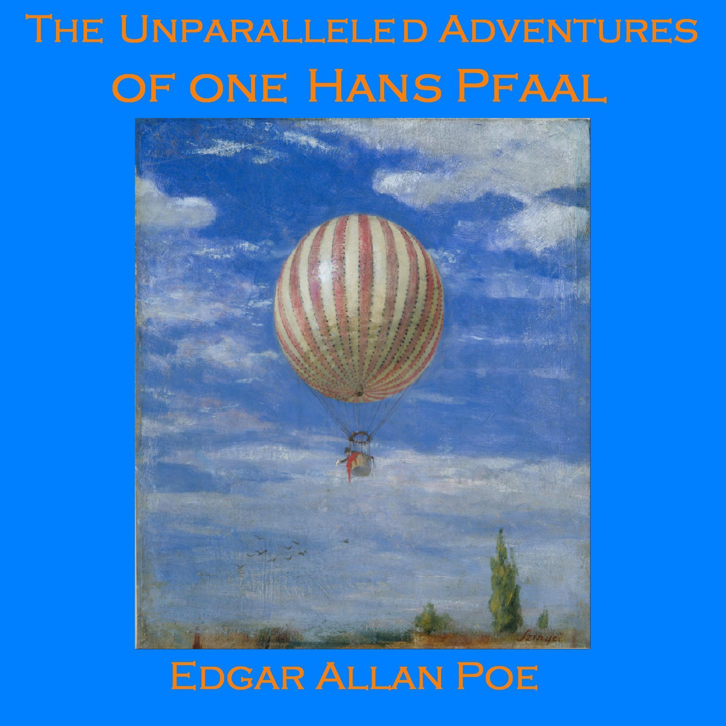 Printable The Unparalleled Adventures of one Hans Pfaal Audiobook Cover Art