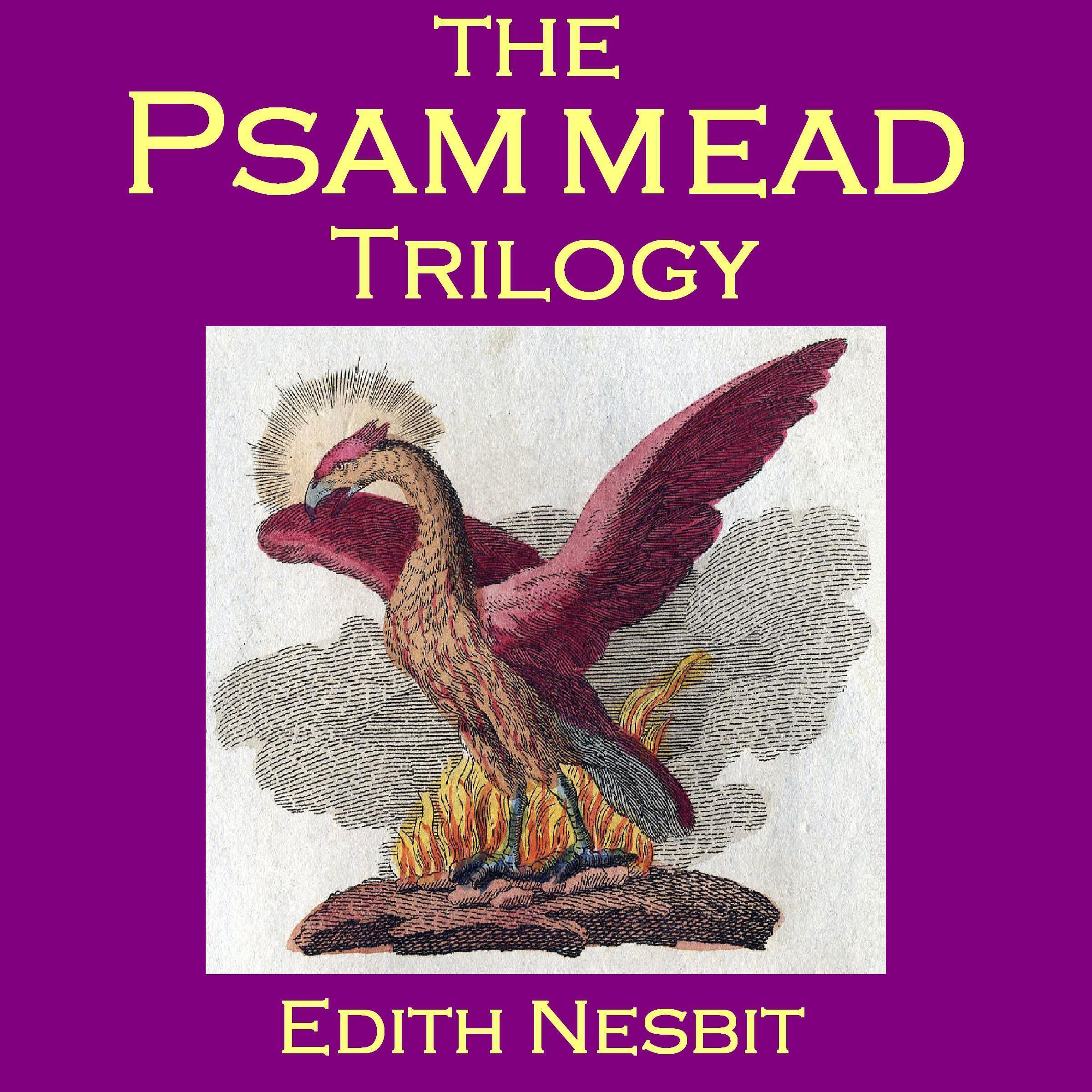 Printable The Psammead Trilogy Audiobook Cover Art