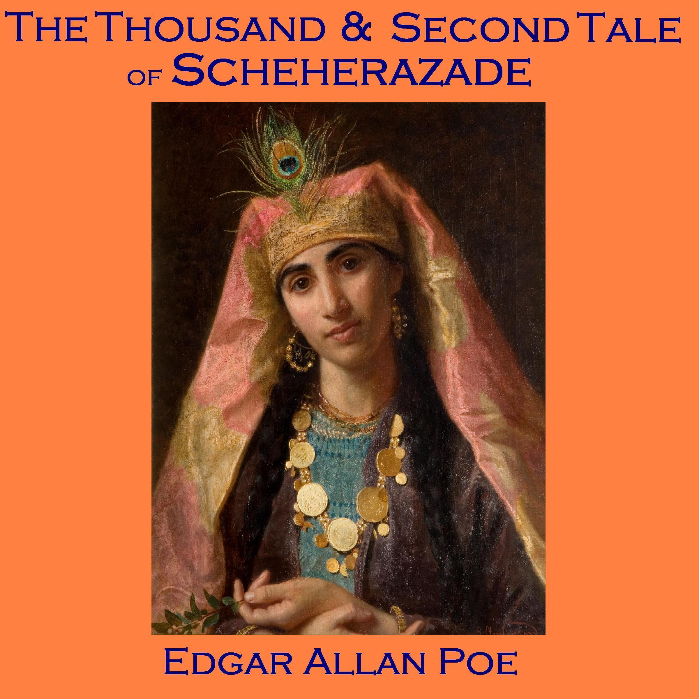Printable The Thousand and Second Tale of Scheherazade Audiobook Cover Art