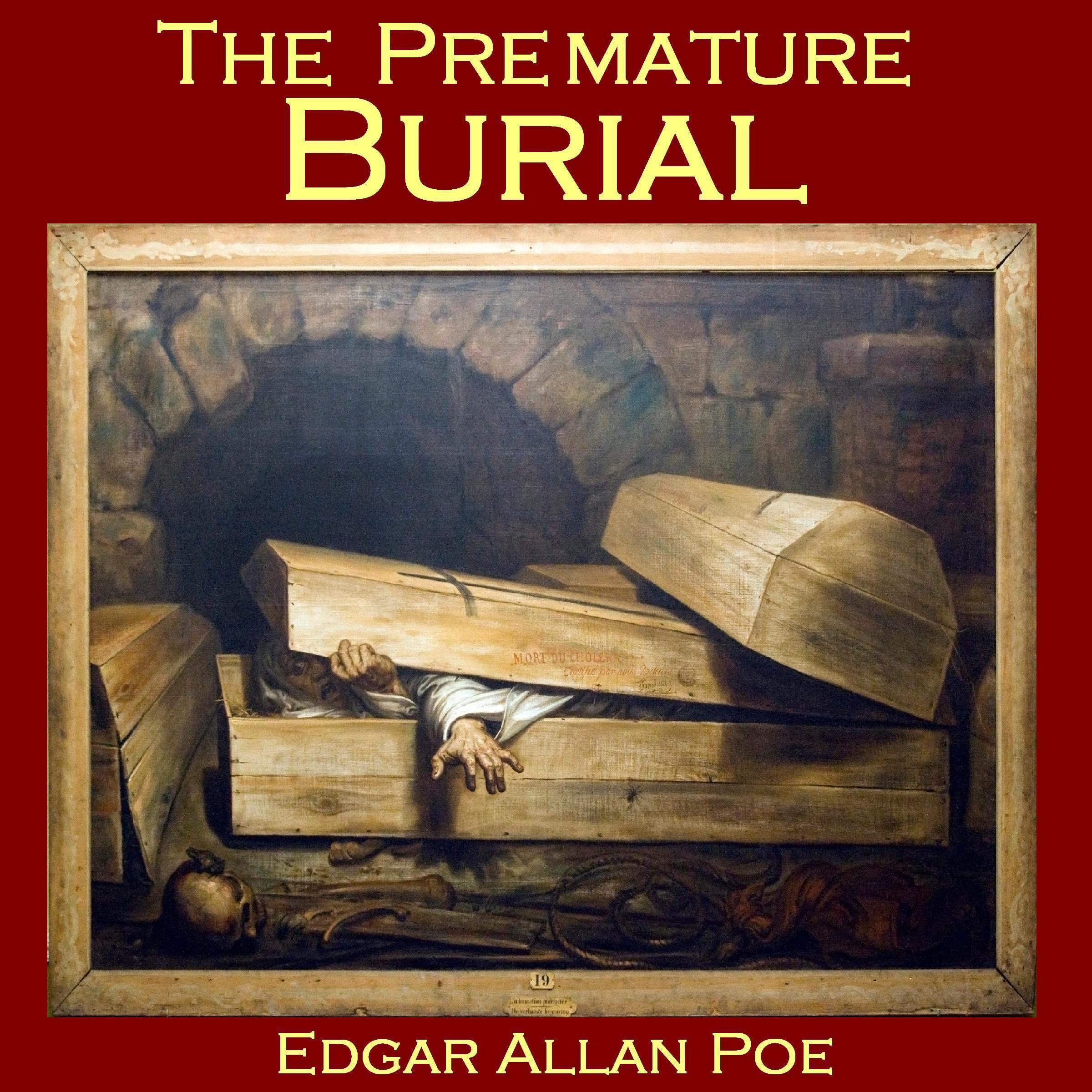 Printable The Premature Burial Audiobook Cover Art