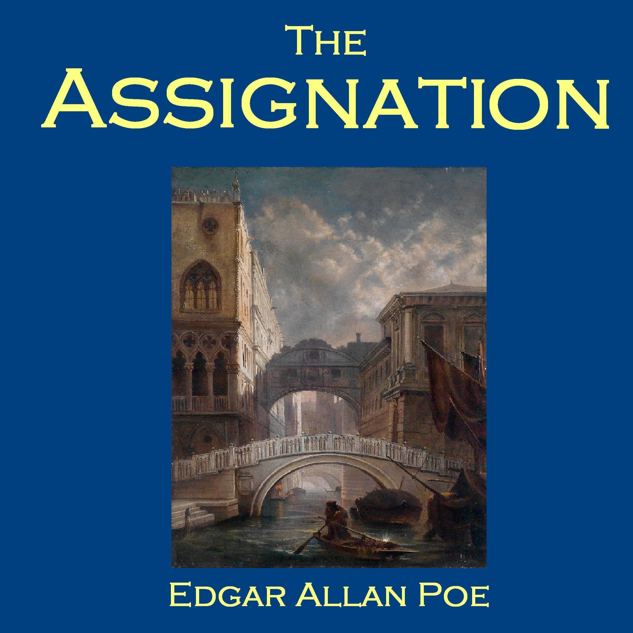 Printable The Assignation Audiobook Cover Art