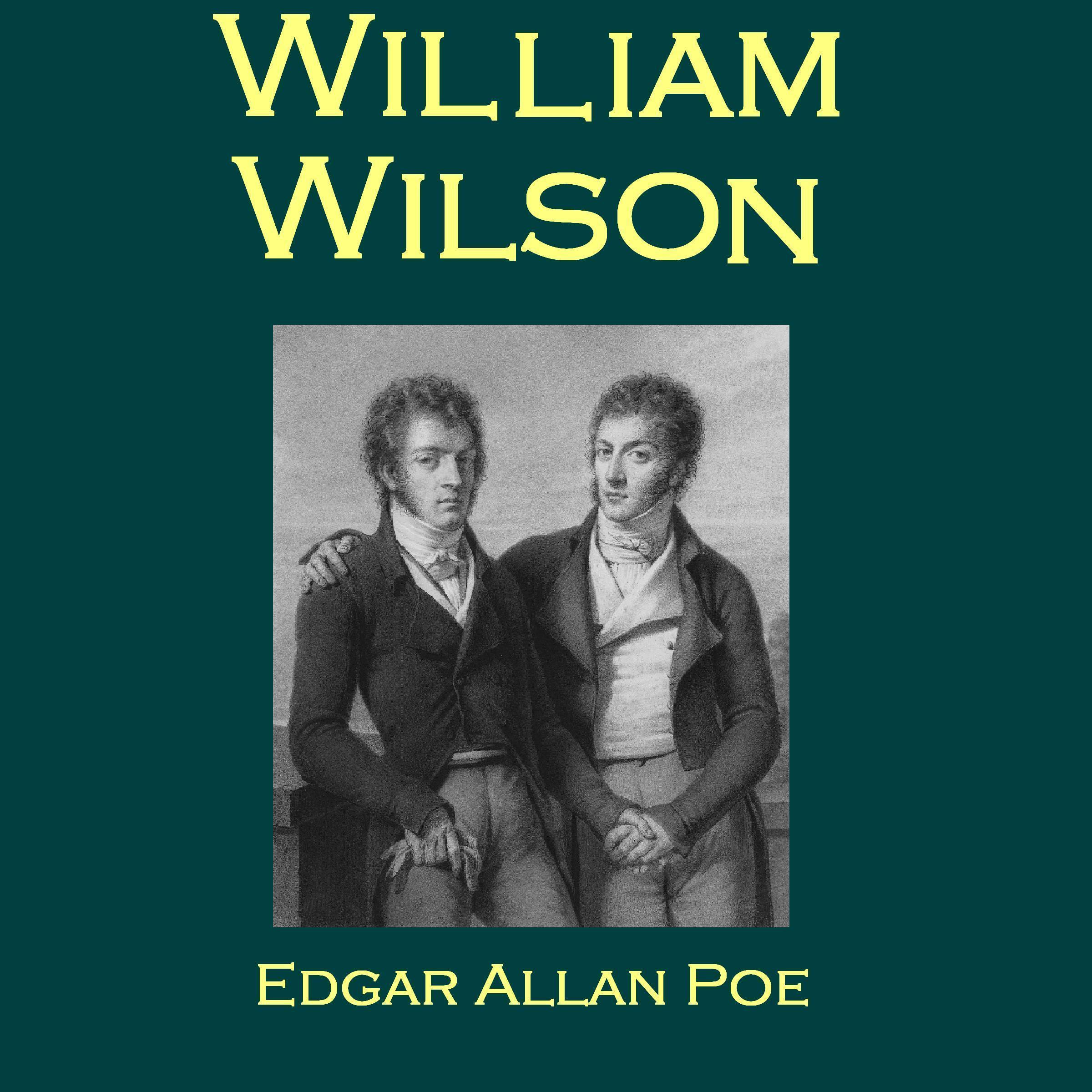Printable William Wilson Audiobook Cover Art