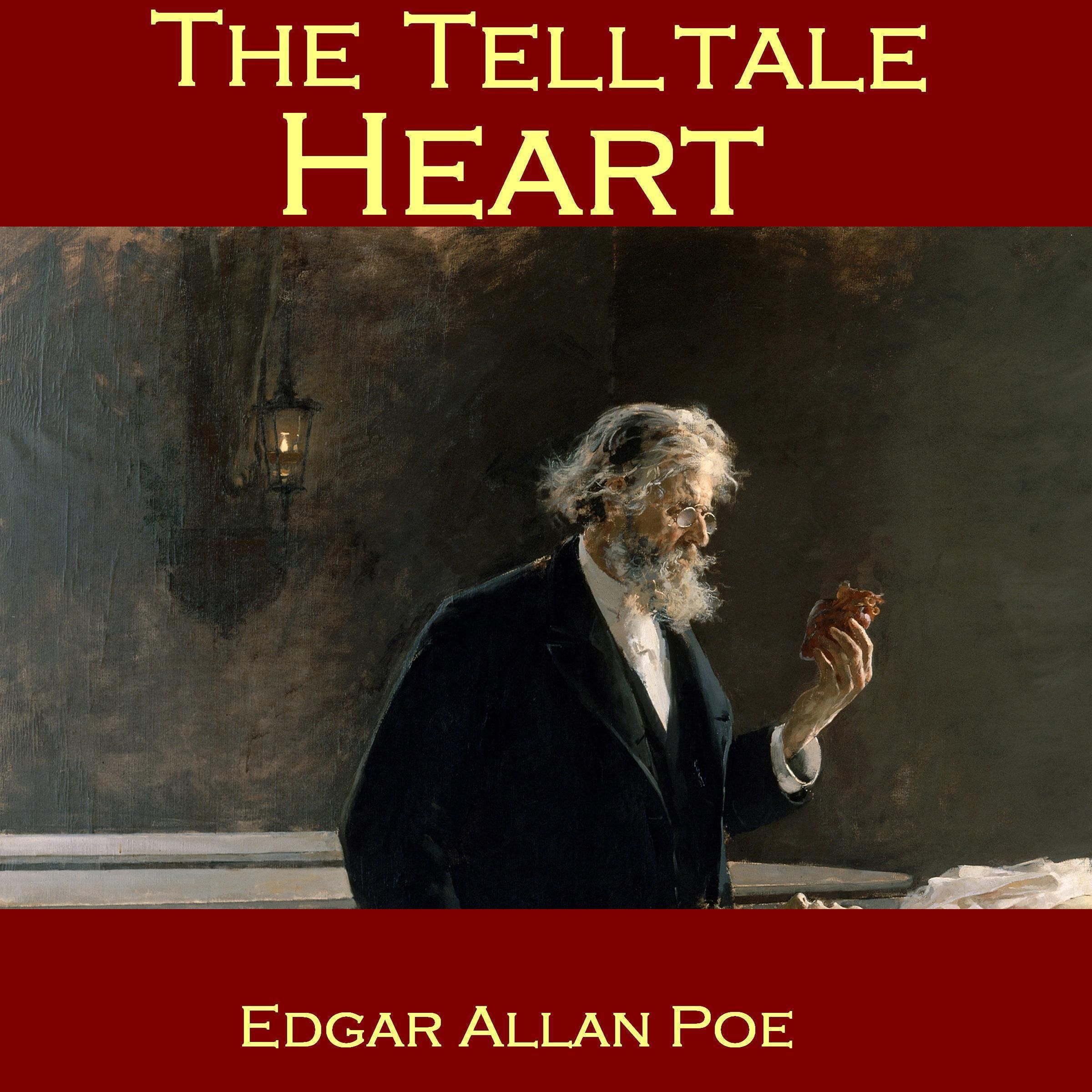 Printable The Telltale Heart Audiobook Cover Art