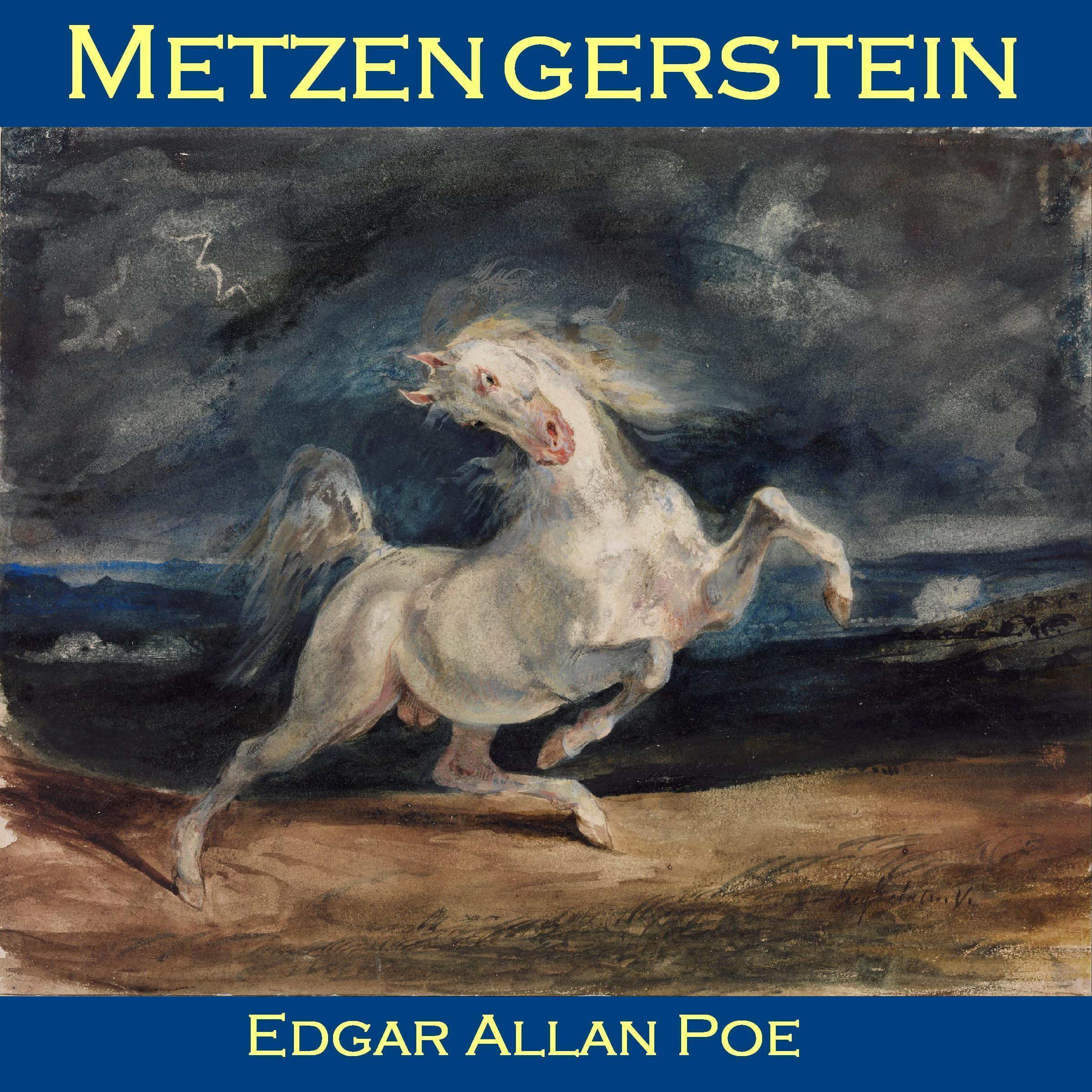 Printable Metzengerstein Audiobook Cover Art