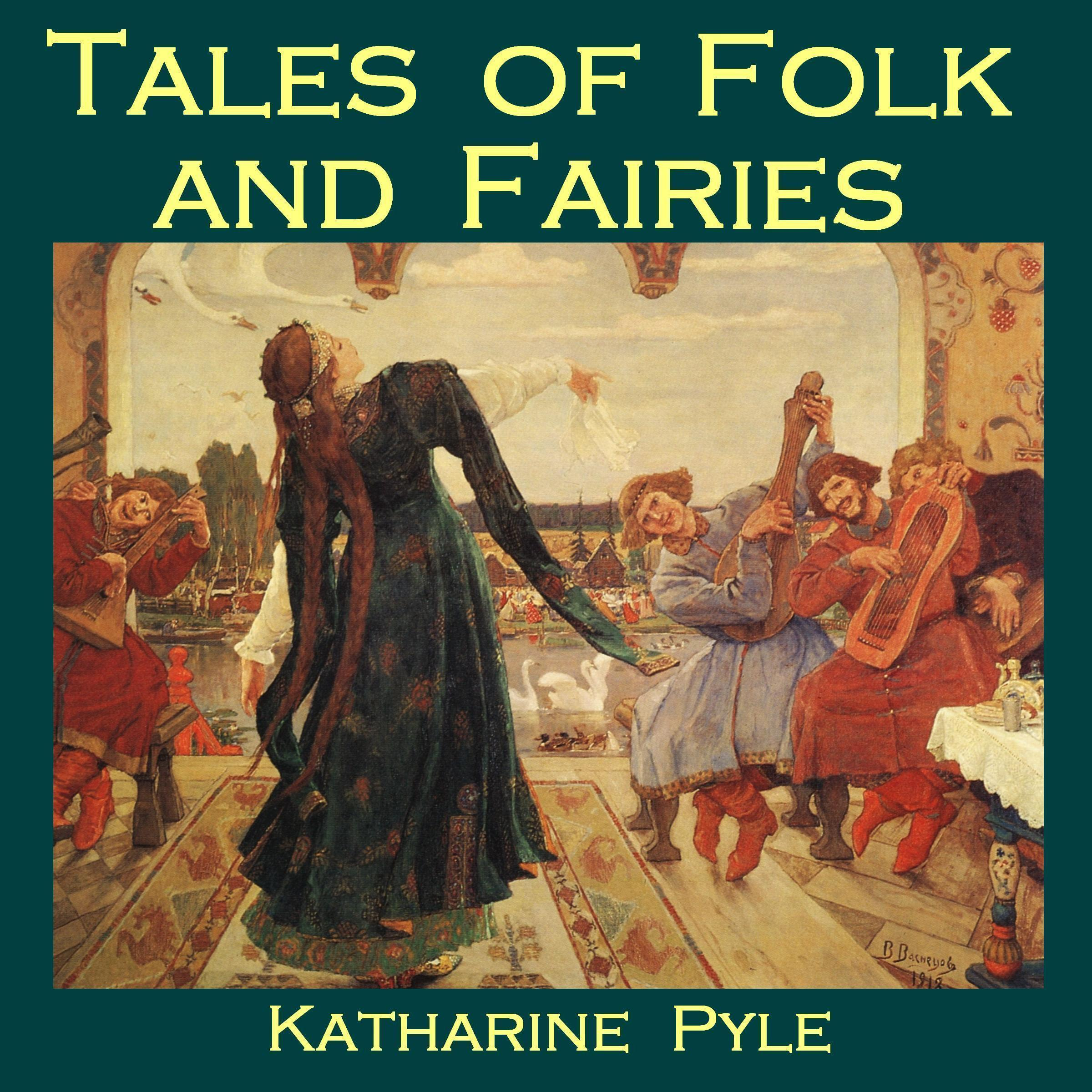 Printable Tales of Folk and Fairies Audiobook Cover Art