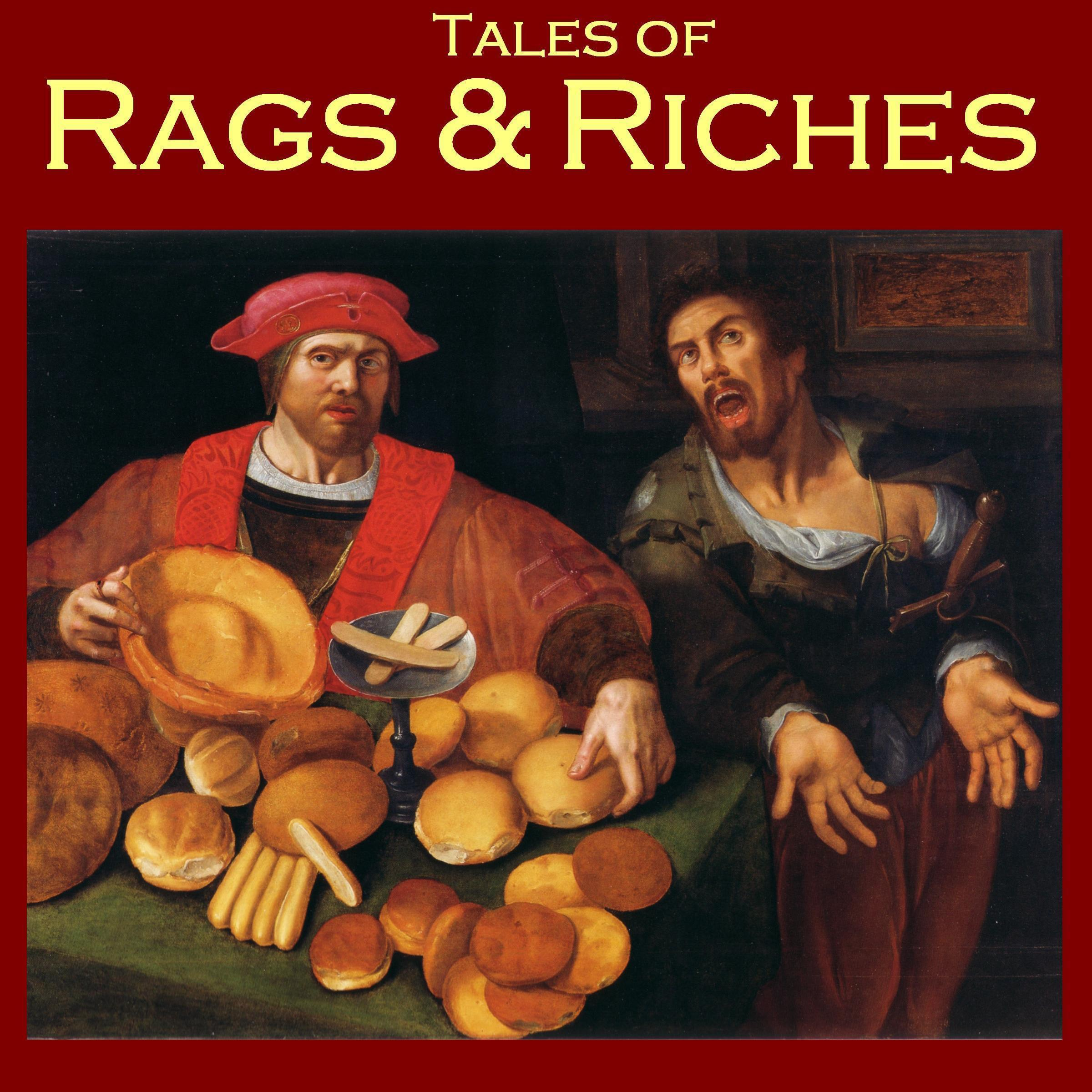 Printable Tales of Rags and Riches Audiobook Cover Art