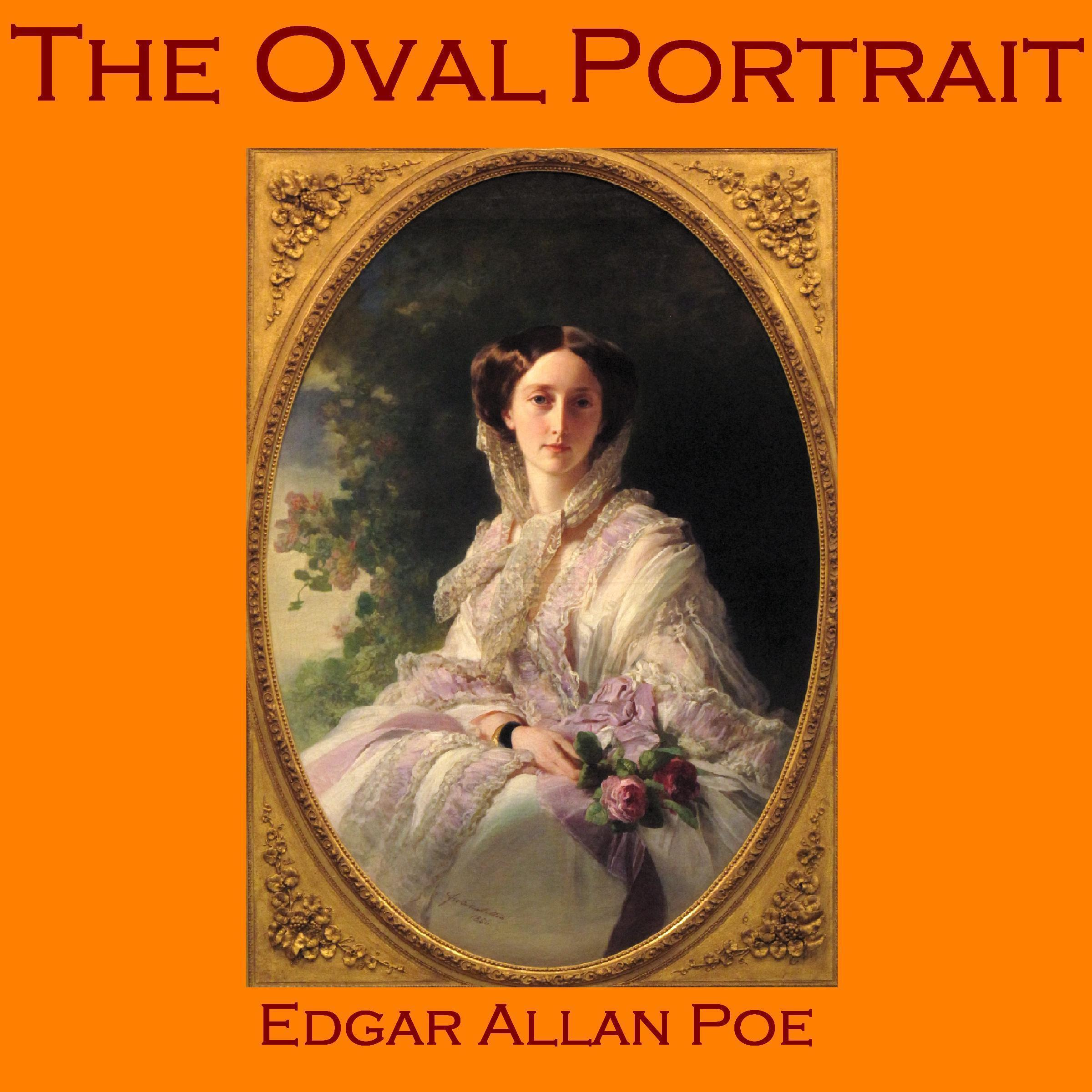 Printable The Oval Portrait Audiobook Cover Art