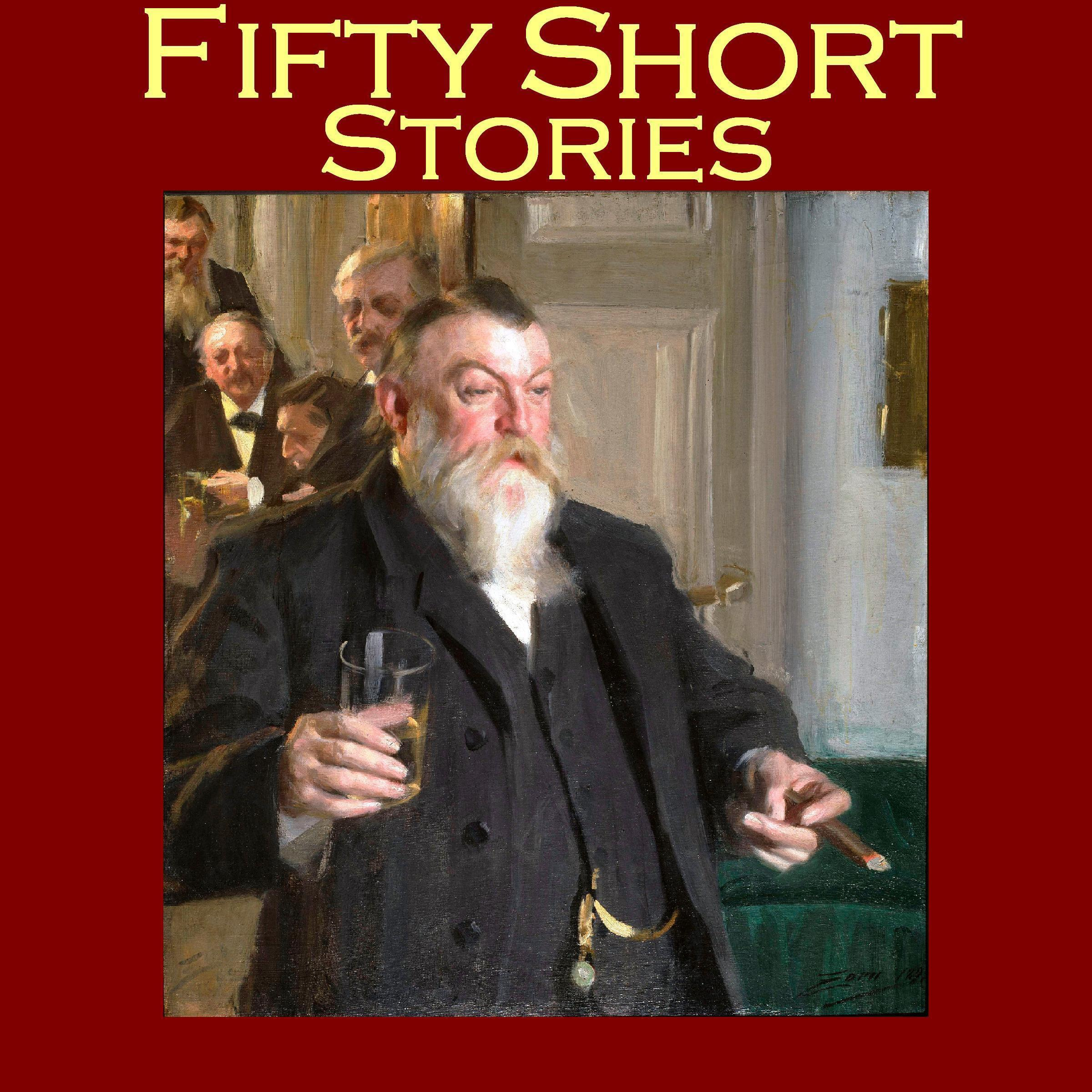 Printable Fifty Short Stories Audiobook Cover Art
