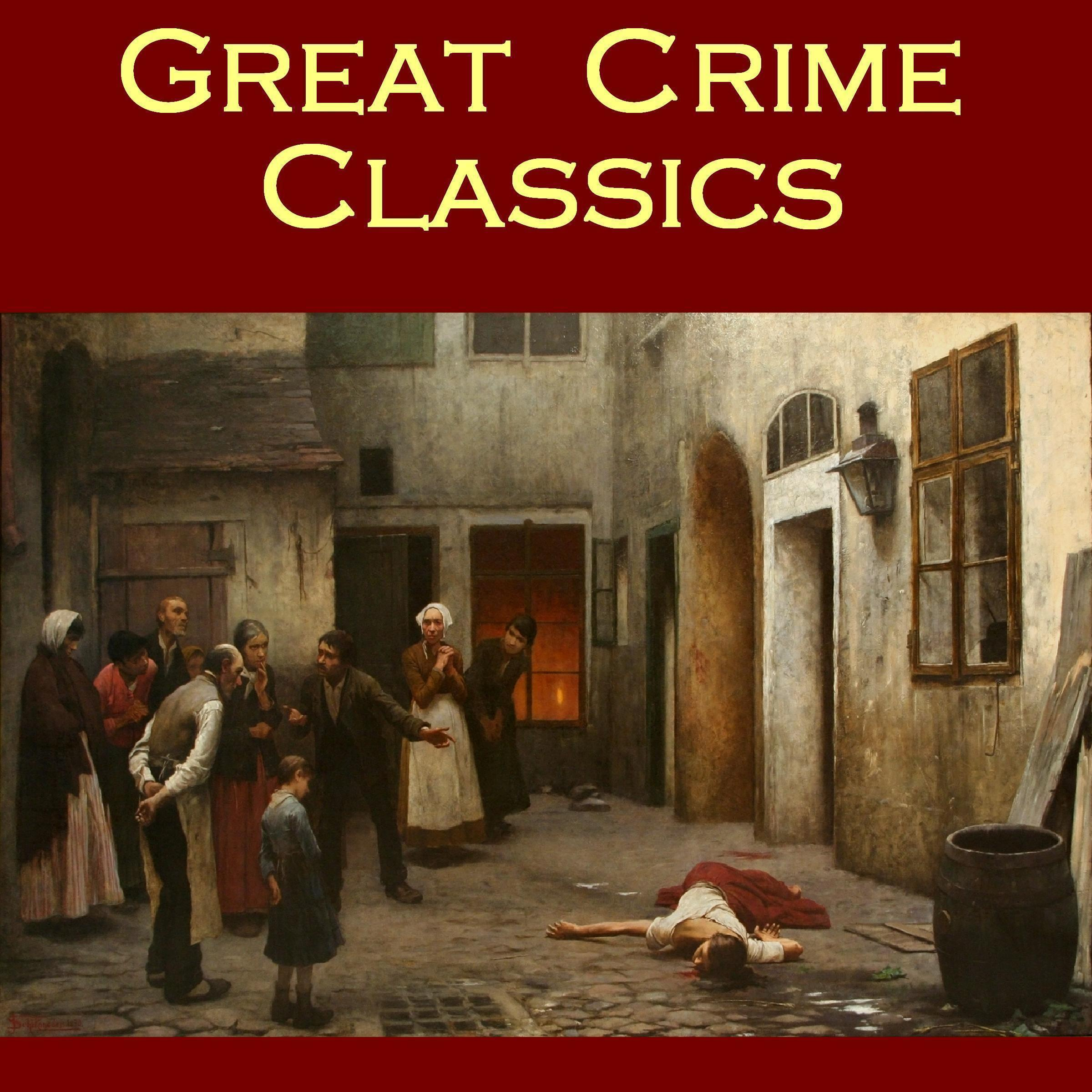 Printable Great Crime Classics Audiobook Cover Art