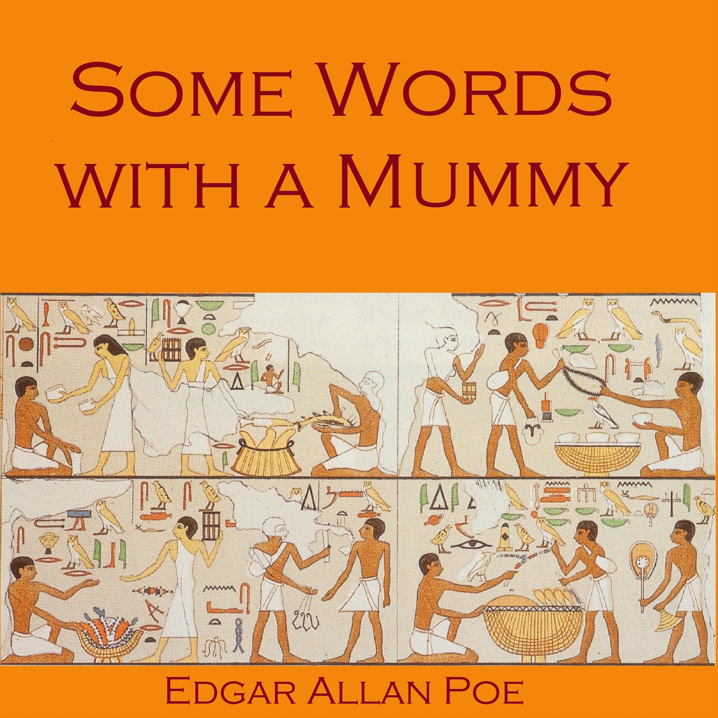 Printable Some Words with a Mummy Audiobook Cover Art