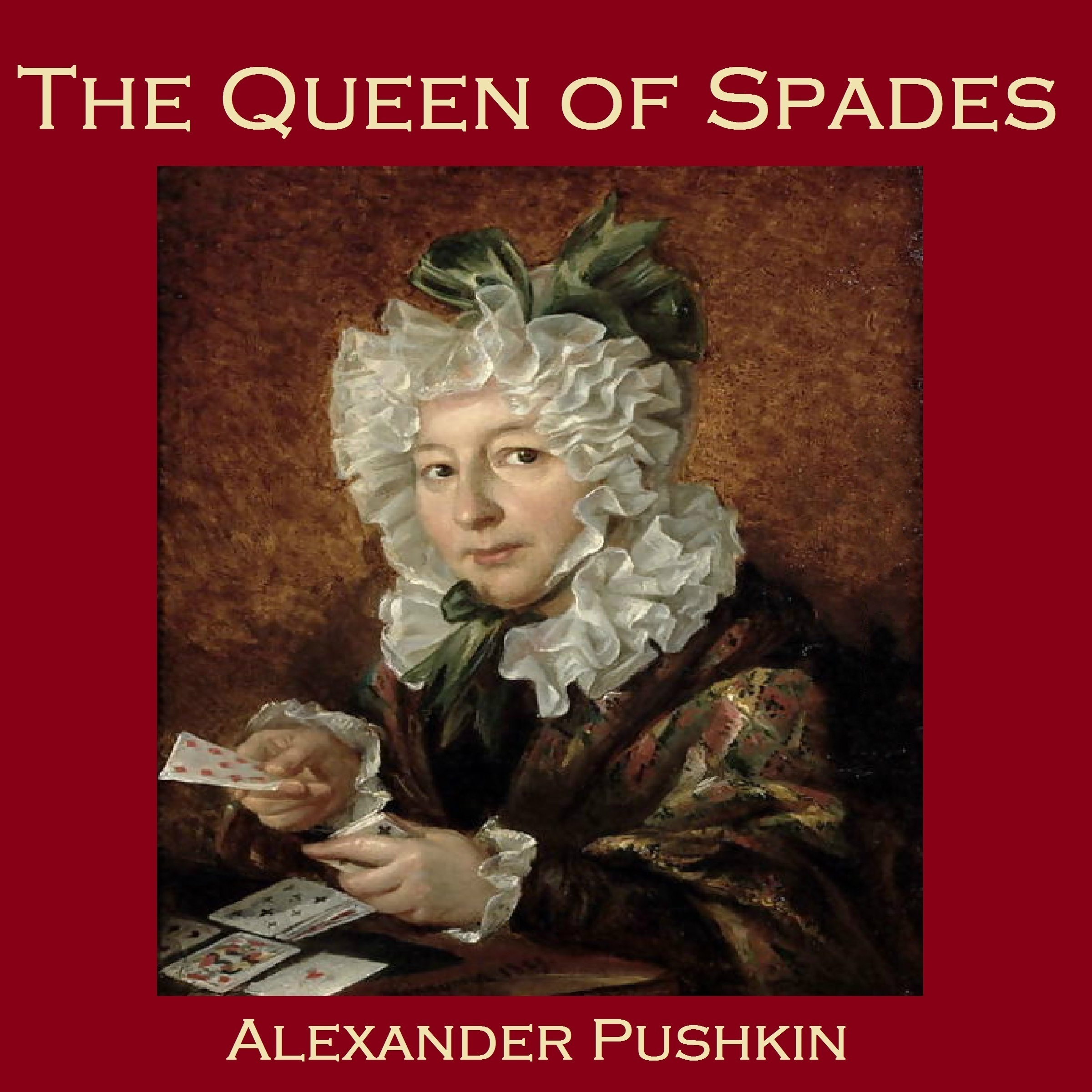 Printable The Queen of Spades Audiobook Cover Art