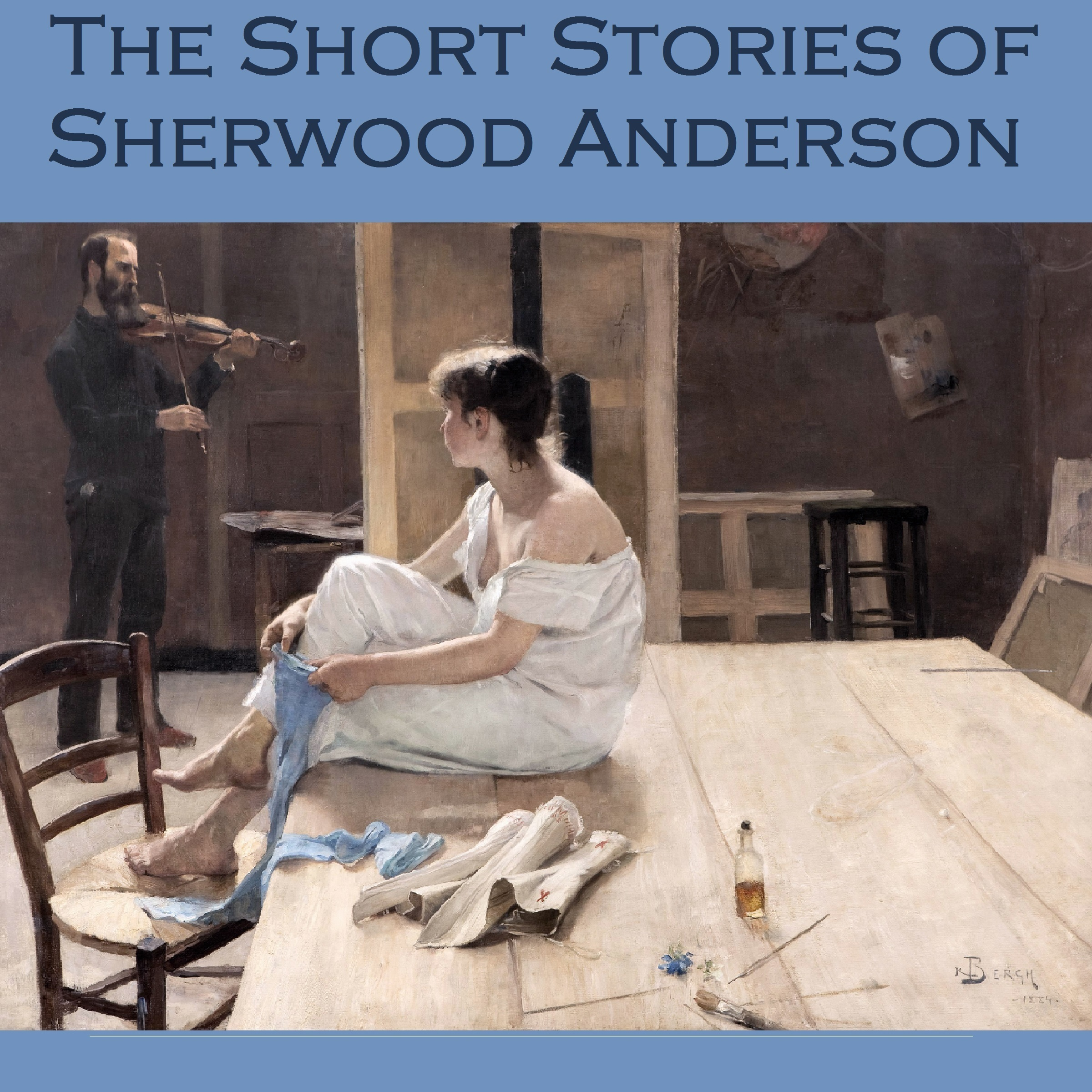 Printable The Short Stories of Sherwood Anderson Audiobook Cover Art